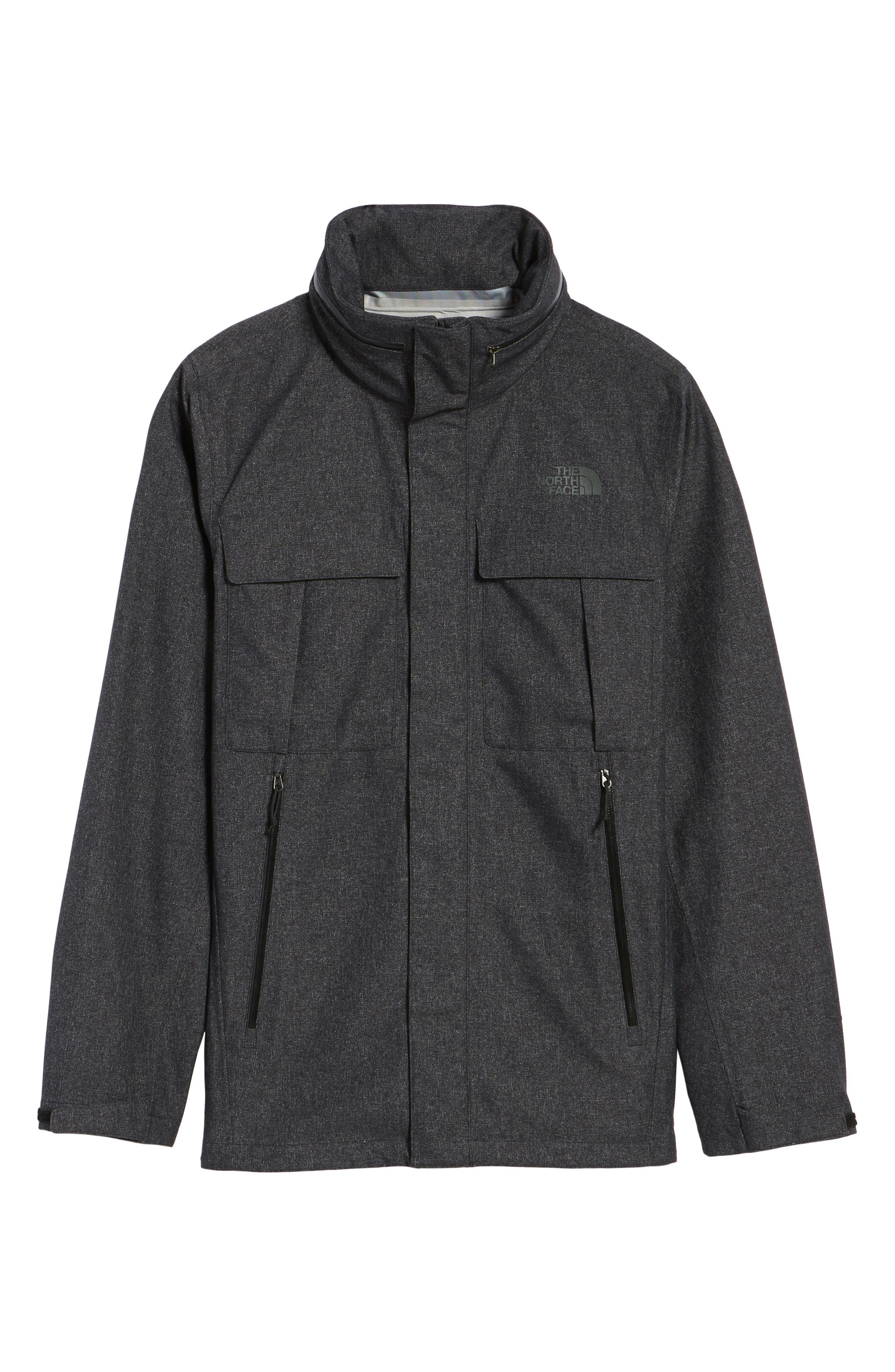 Kassler DryVent Field Jacket,                             Alternate thumbnail 5, color,                             001