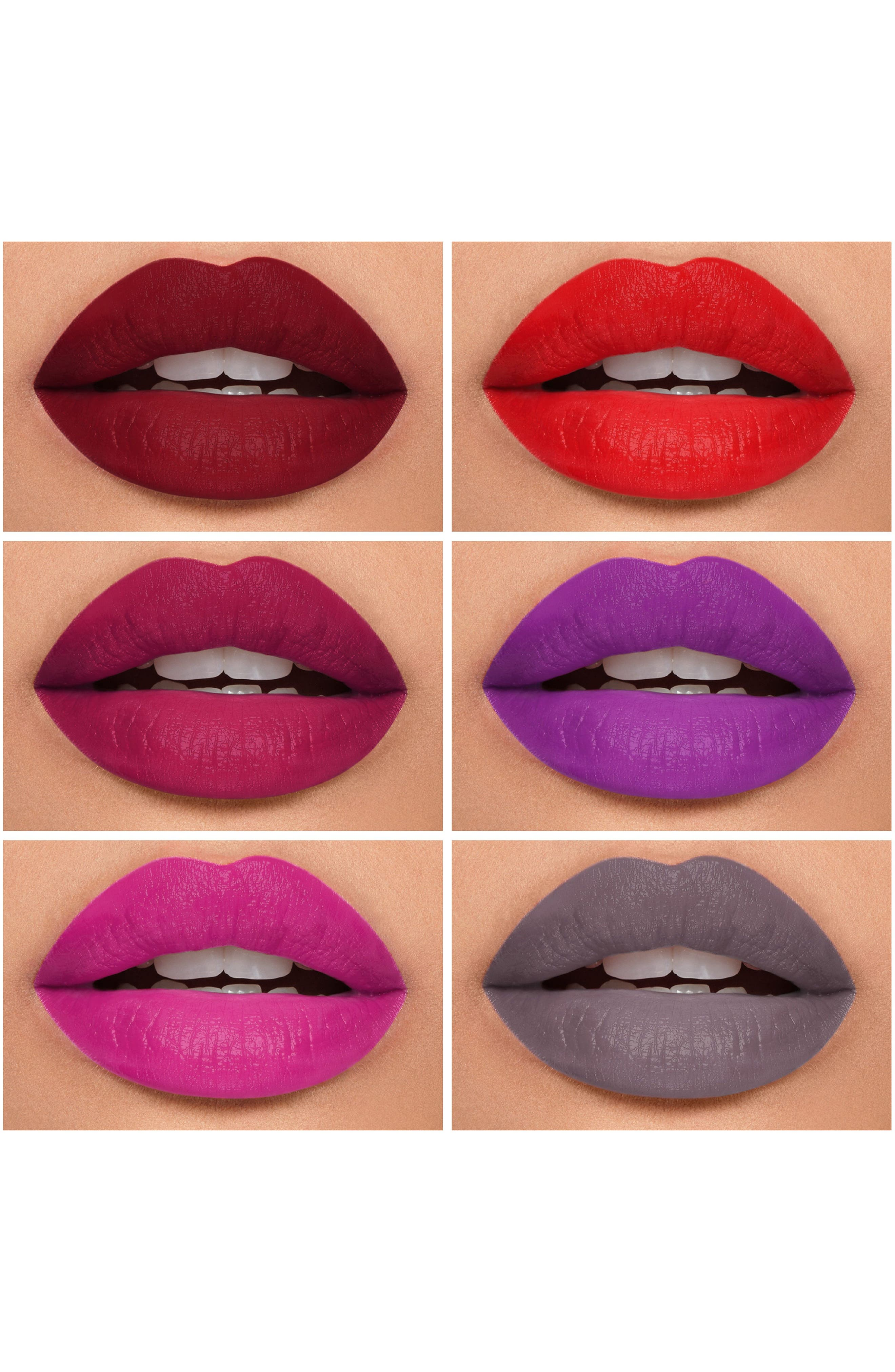 Be Legendary Pucker Up Lipstick Palette,                             Alternate thumbnail 6, color,                             BOLD