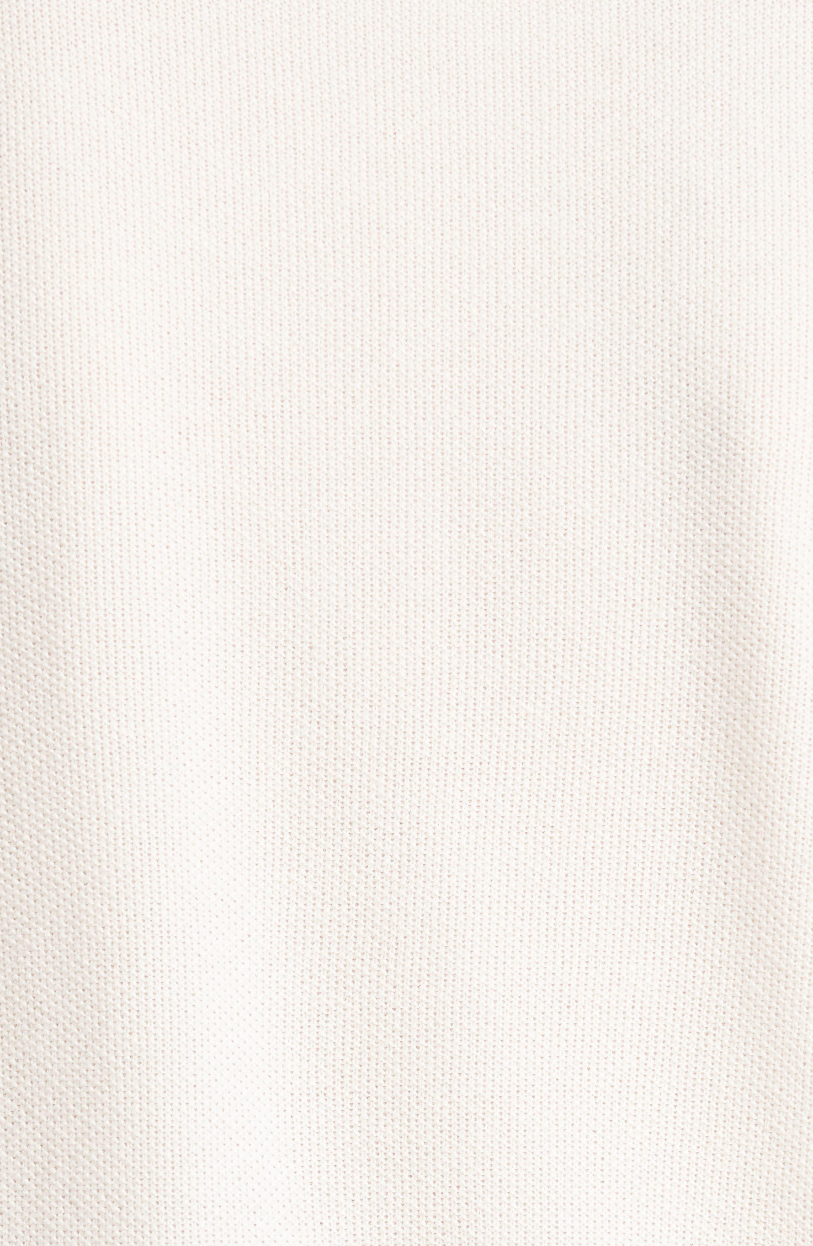 Wool, Silk & Cashmere Micro Popcorn Stitch Sweater,                             Alternate thumbnail 5, color,                             101