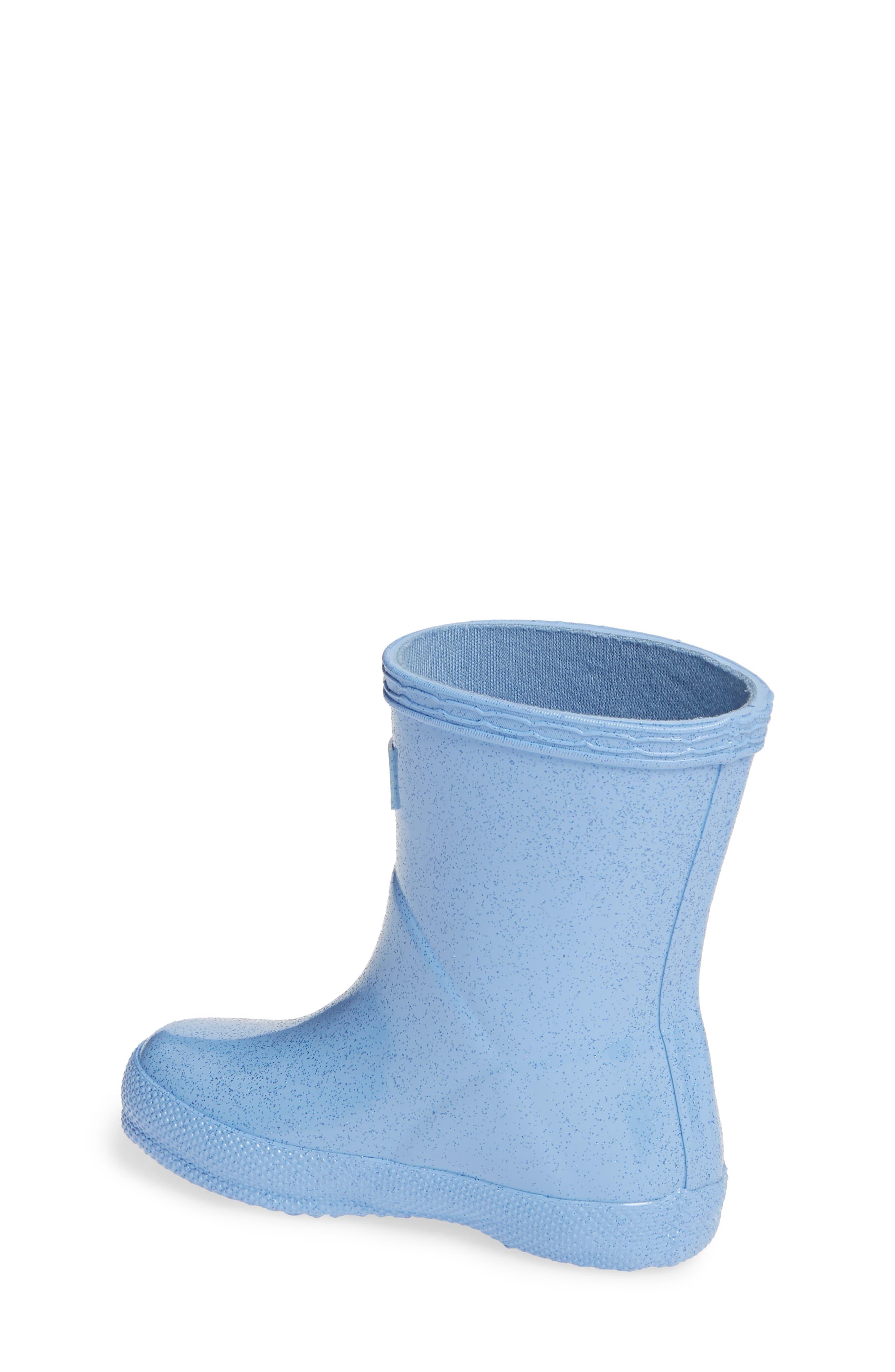 Kids First Classic Starcloud Glitter Rain Boot,                             Alternate thumbnail 2, color,                             VIVID BLUE