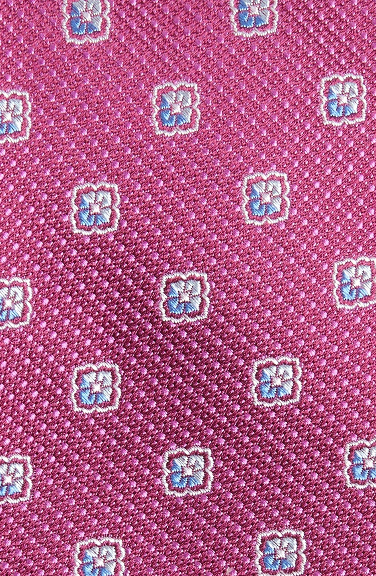 Leary Medallion Silk Tie,                             Alternate thumbnail 6, color,