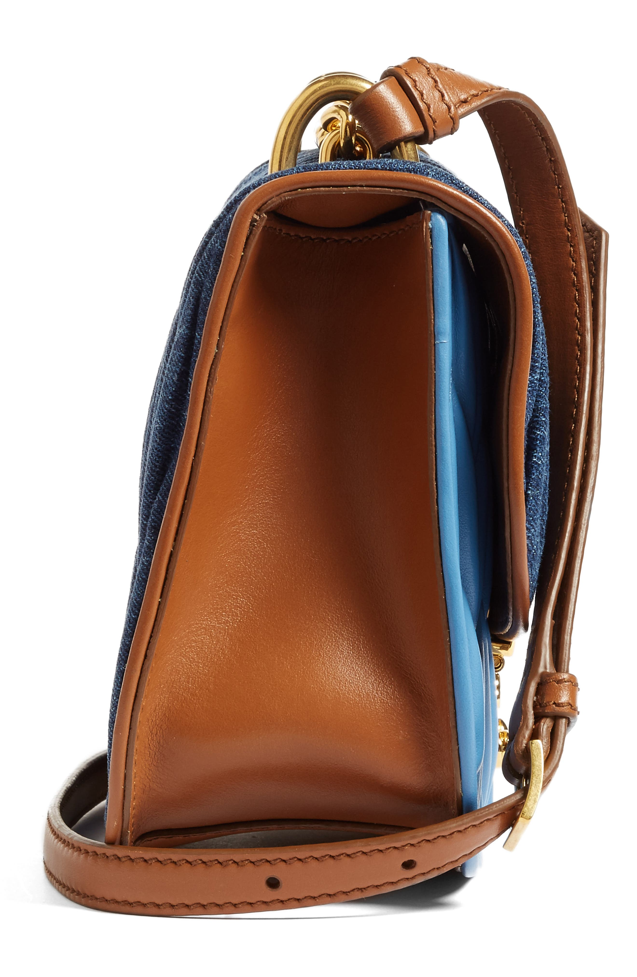 Matelassé Crossbody Bag,                             Alternate thumbnail 6, color,                             901