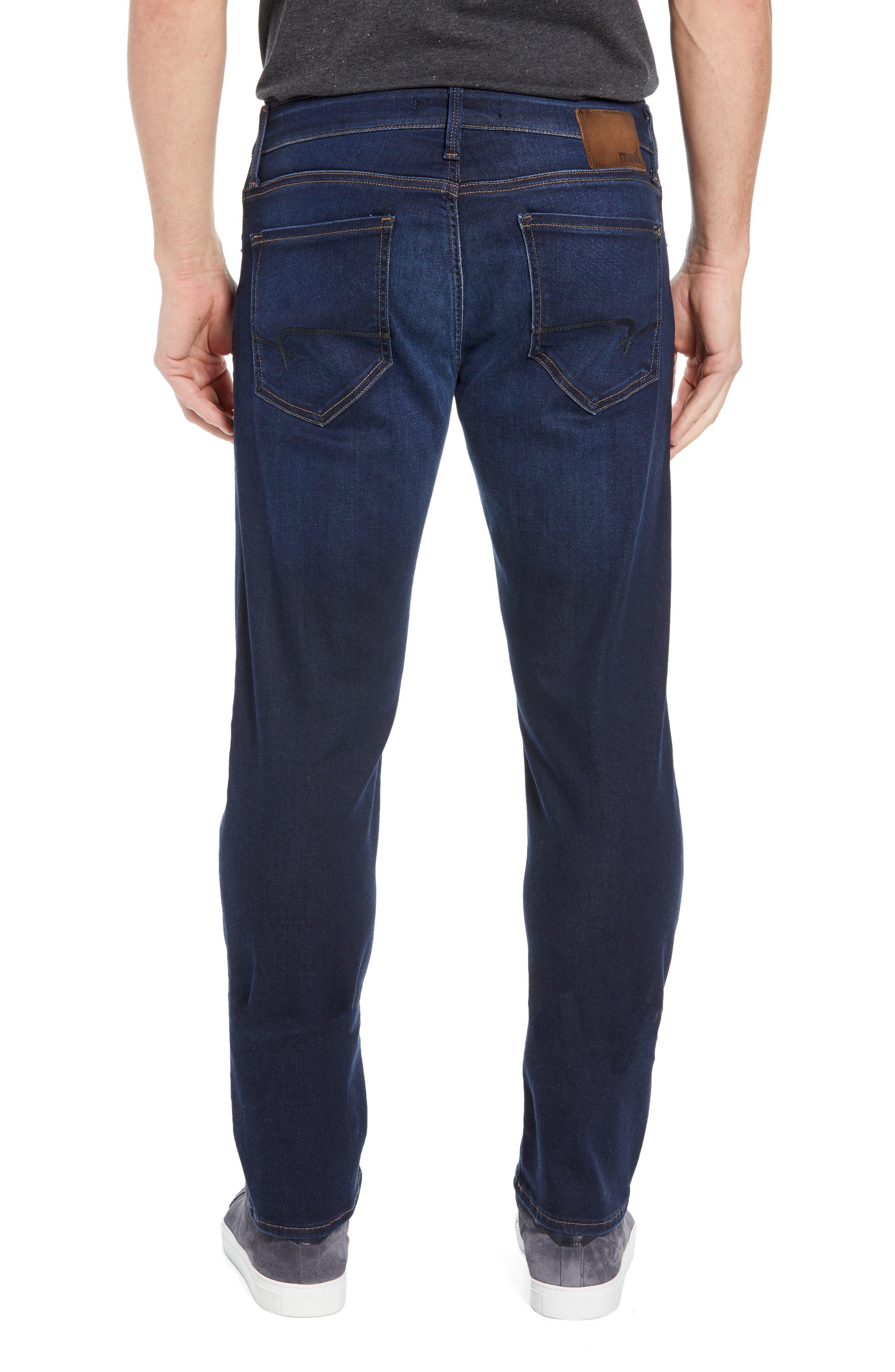 Zach Straight Leg Jeans,                             Alternate thumbnail 2, color,                             DEEP SOFT MOVE