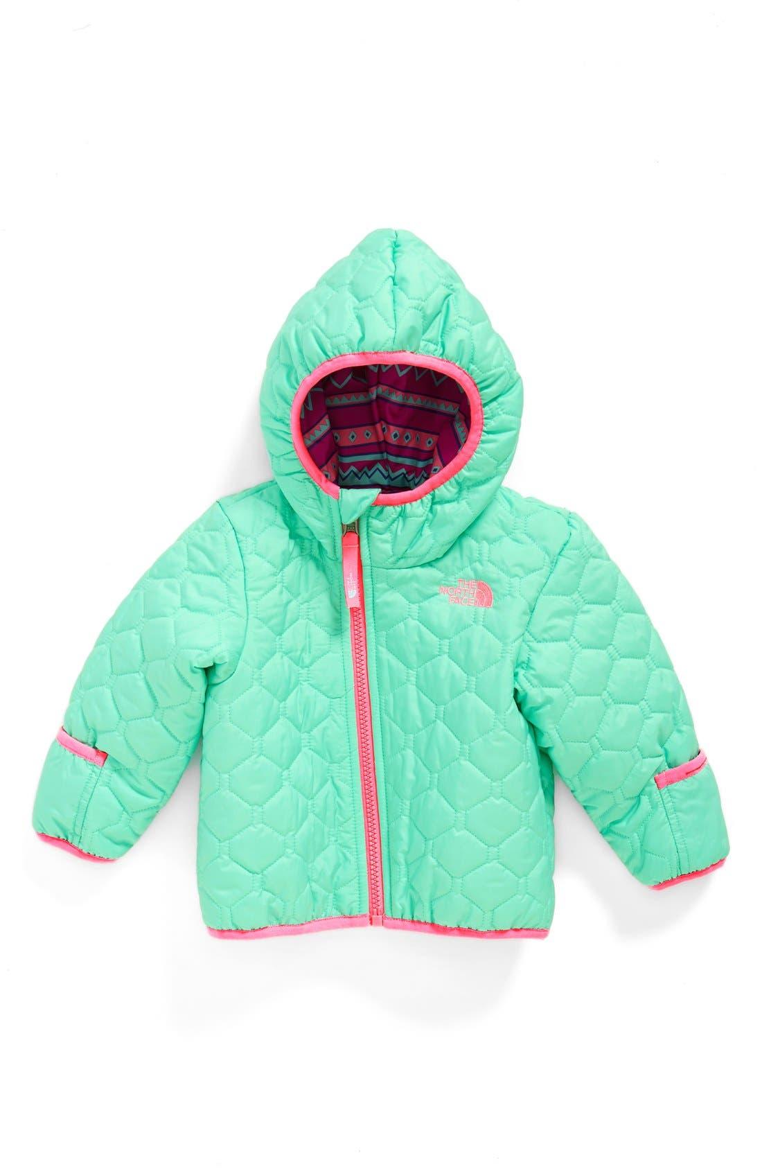 'Perrito' Reversible Water Repellent Hooded Jacket,                             Main thumbnail 2, color,