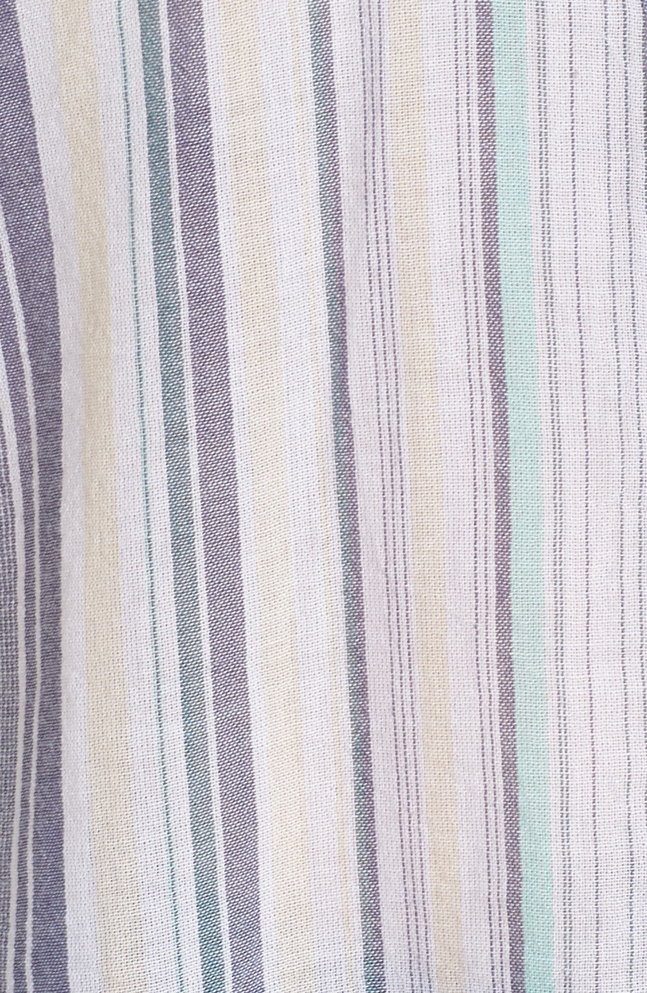 Sheer Stripe Shirt,                             Alternate thumbnail 6, color,                             101
