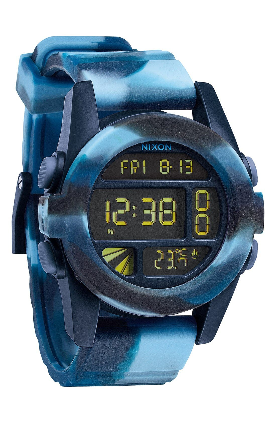 'The Unit' Round Digital Watch, 44mm,                             Alternate thumbnail 46, color,