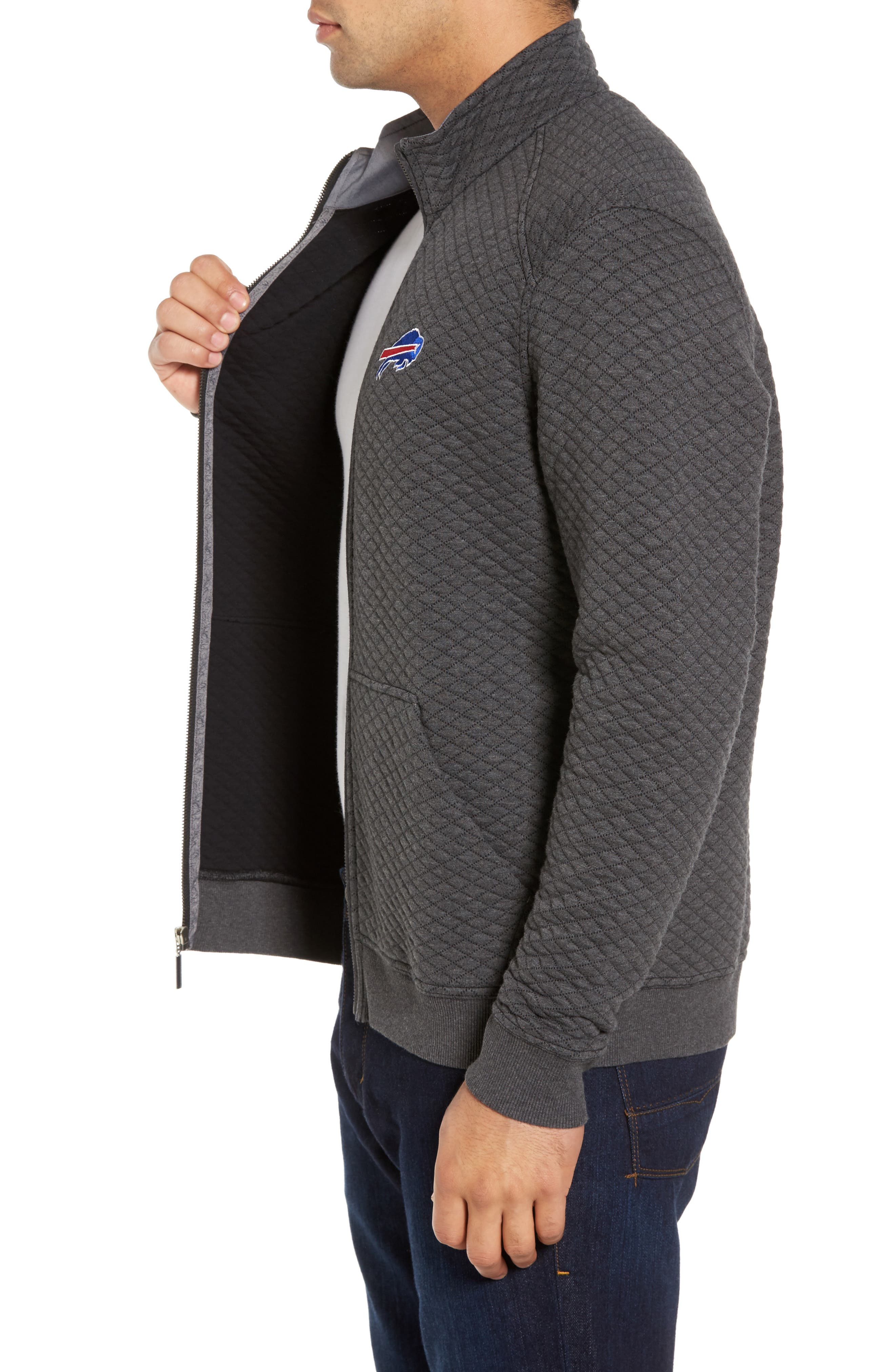 NFL Quiltessential Full Zip Sweatshirt,                             Alternate thumbnail 67, color,