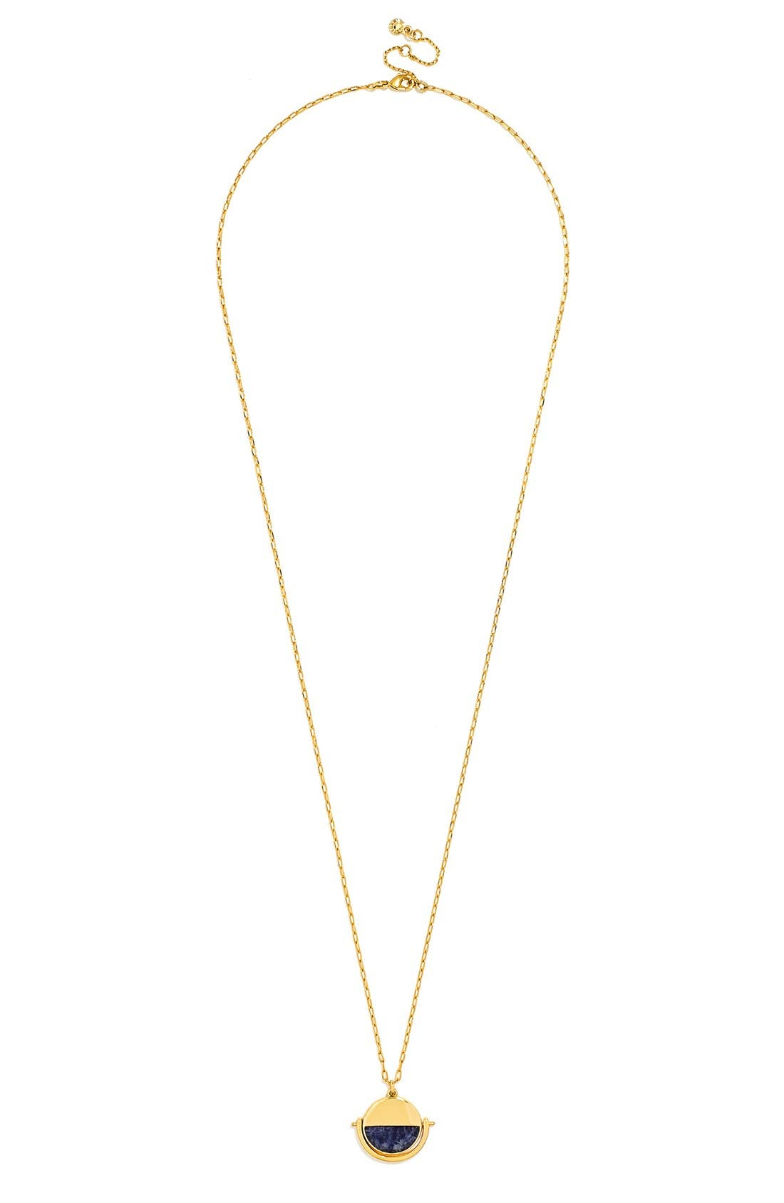 Spinner Pendant Necklace, Main, color, 400