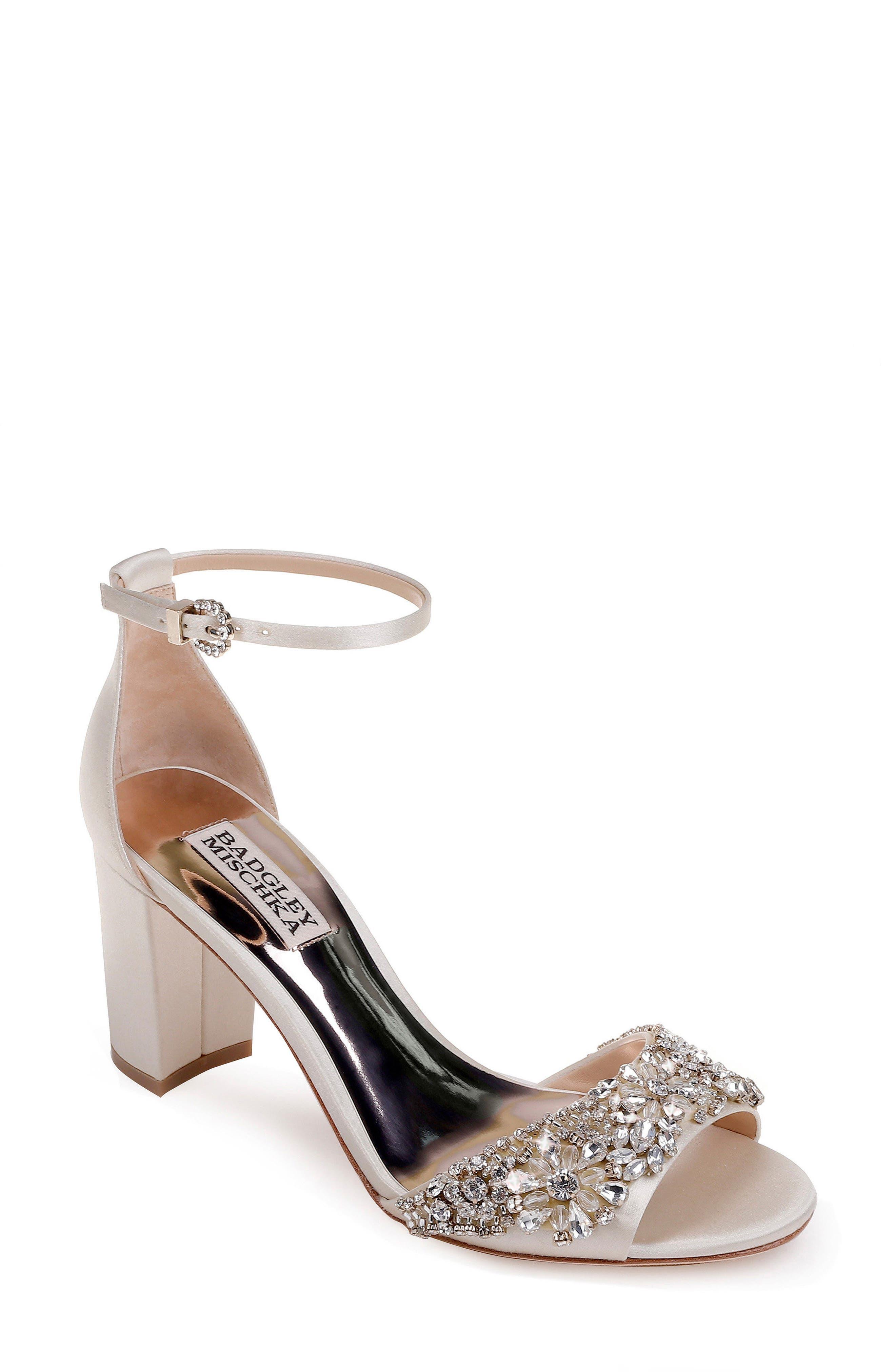 Hines Embellished Block Heel Sandal,                             Main thumbnail 3, color,