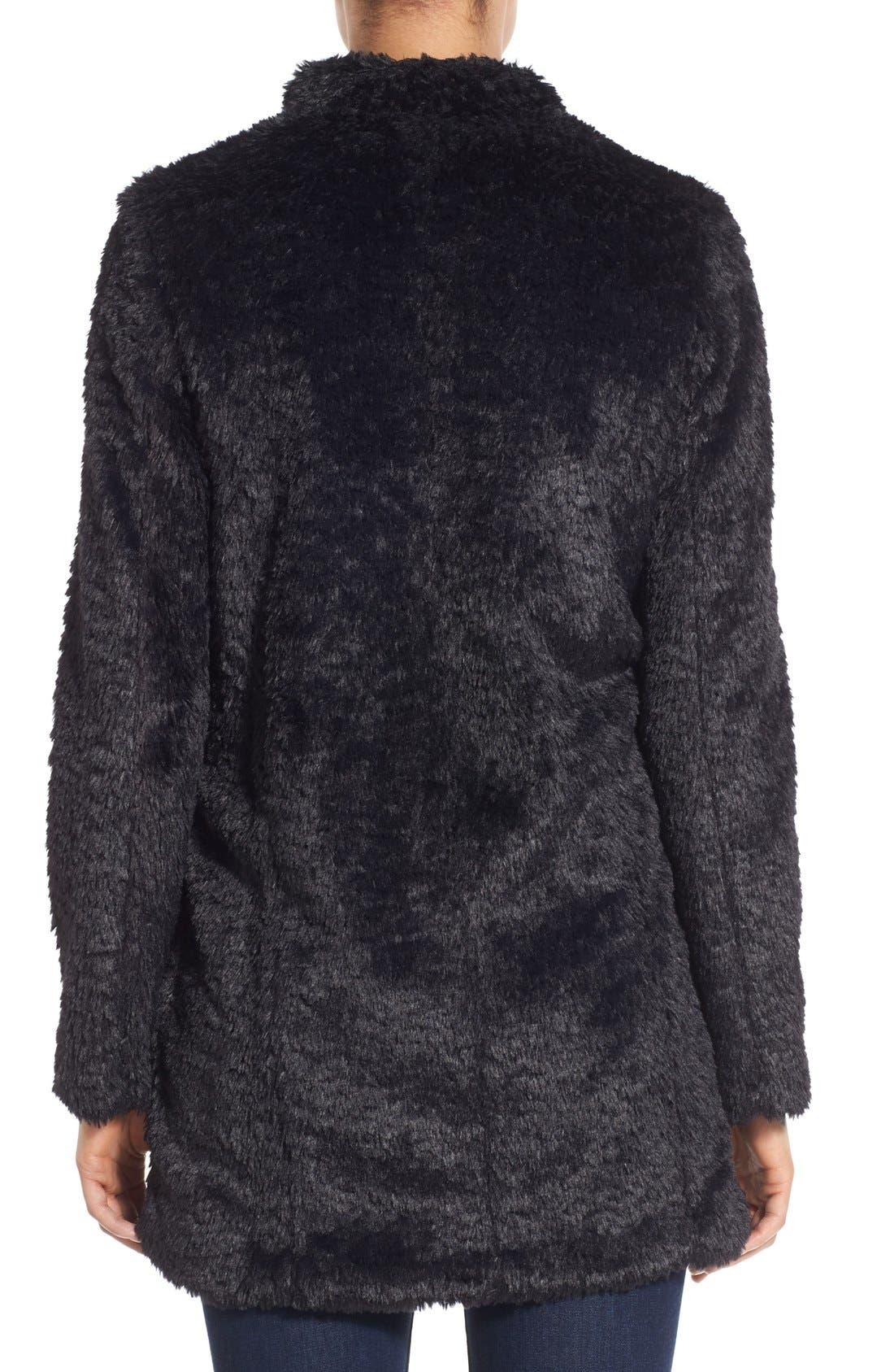 Faux Fur Jacket,                             Alternate thumbnail 11, color,