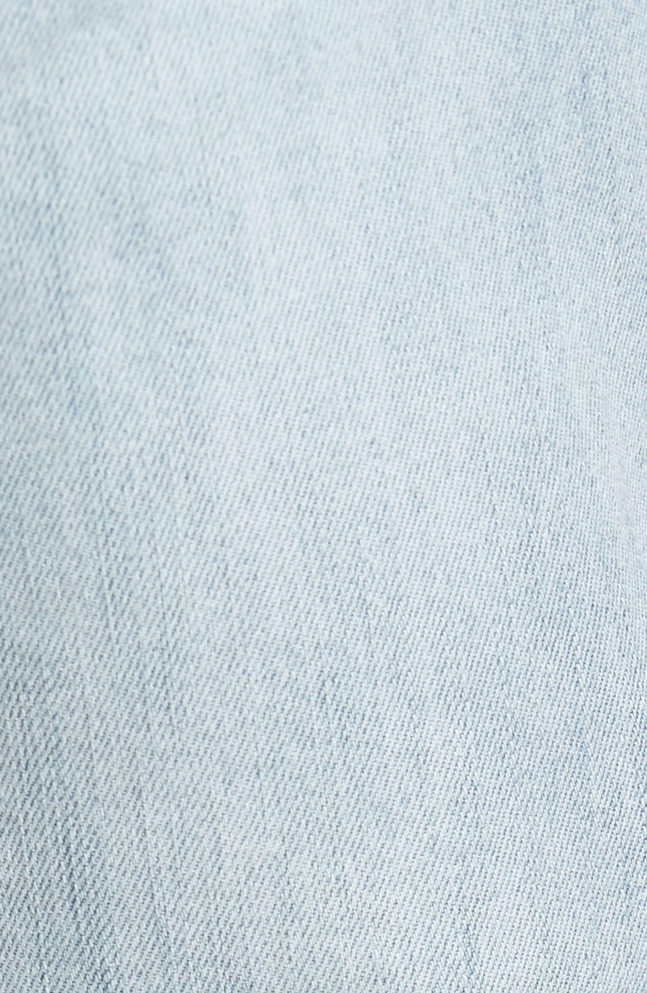 Juvee II Skinny Fit Jeans,                             Alternate thumbnail 5, color,                             400
