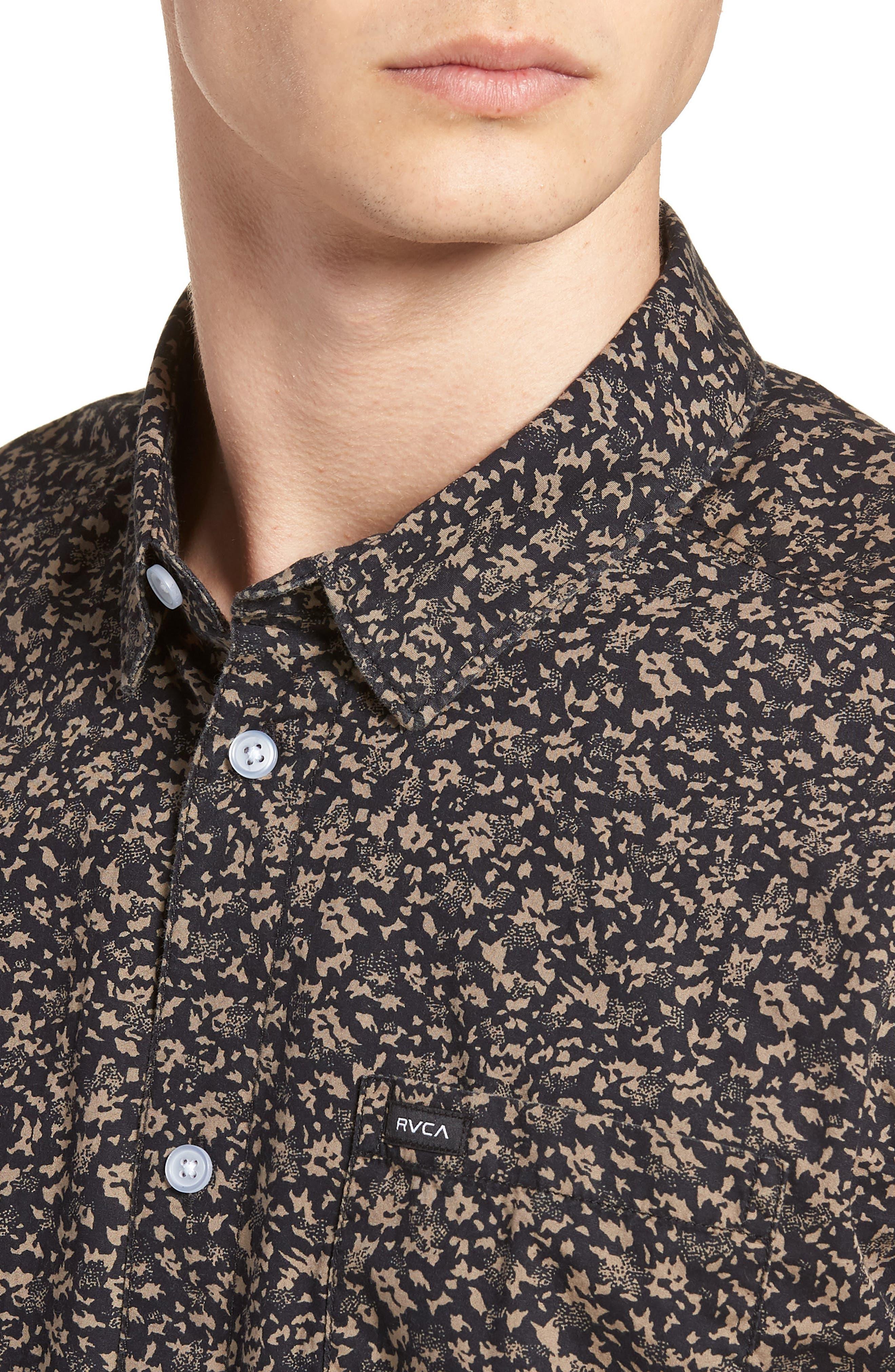 Dresden Woven Shirt,                             Alternate thumbnail 4, color,                             008