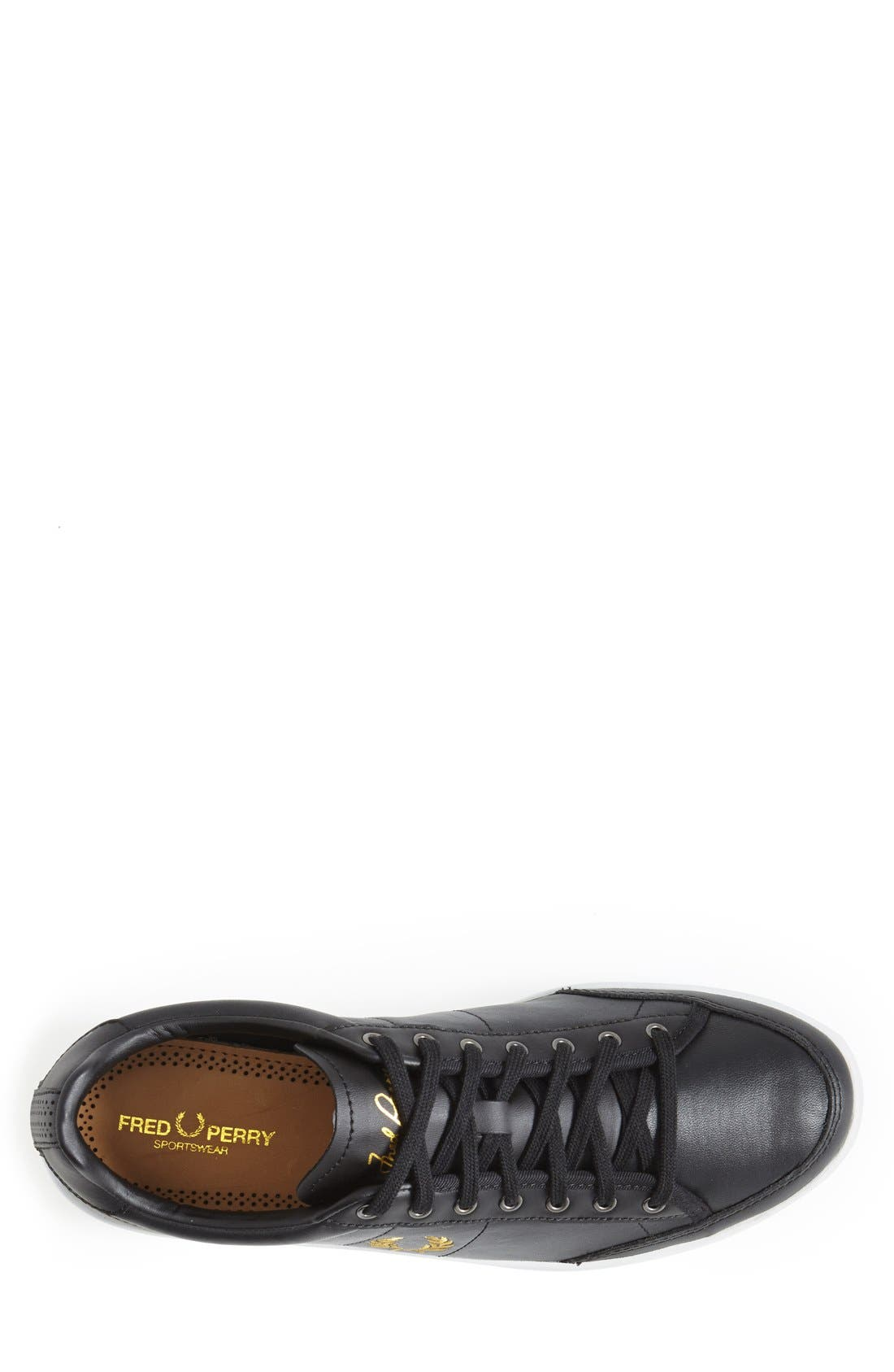 FRED PERRY,                             'Hopman' Sneaker,                             Alternate thumbnail 3, color,                             001