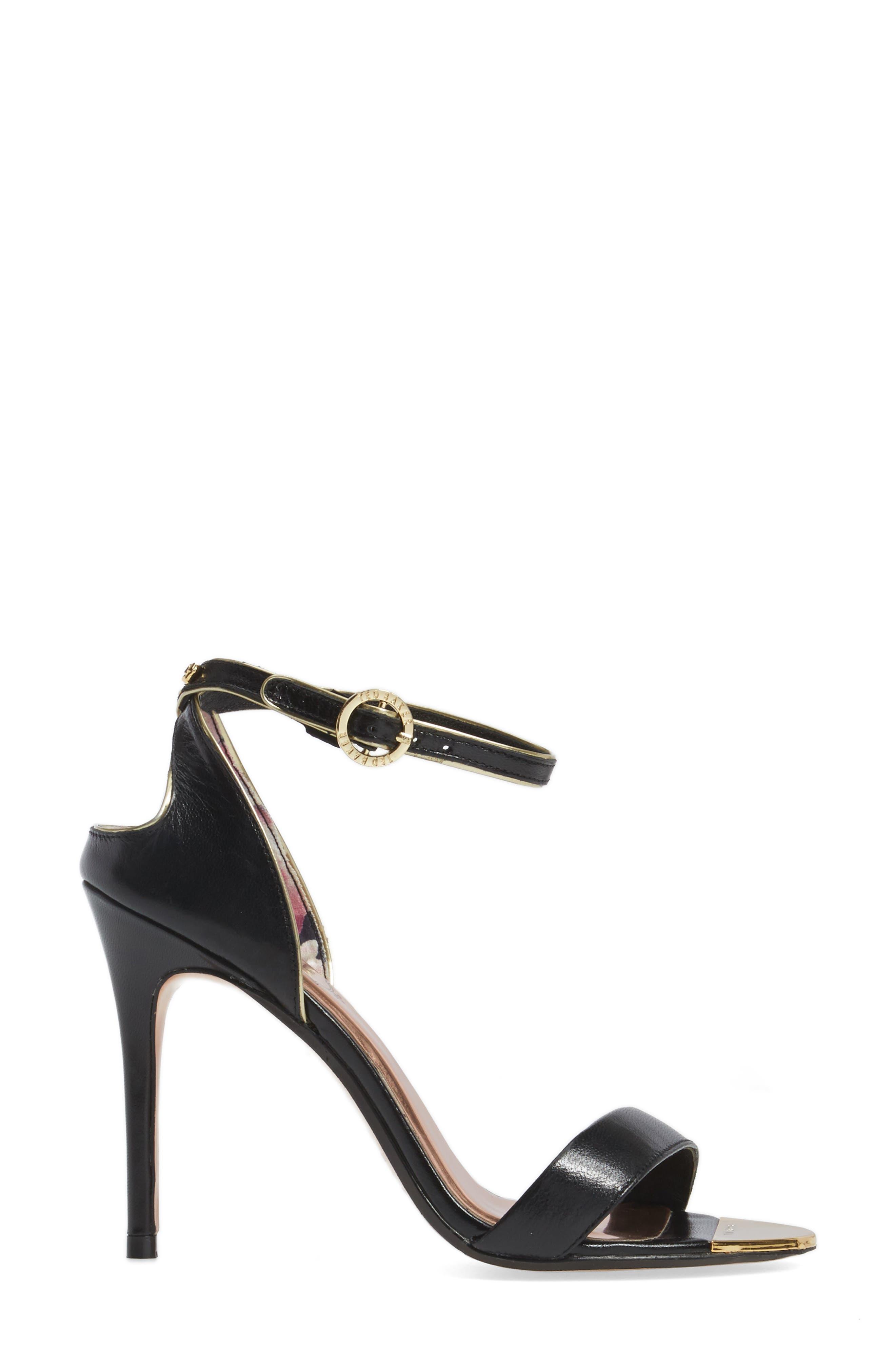 Mirobell Ankle Strap Sandal,                             Alternate thumbnail 7, color,