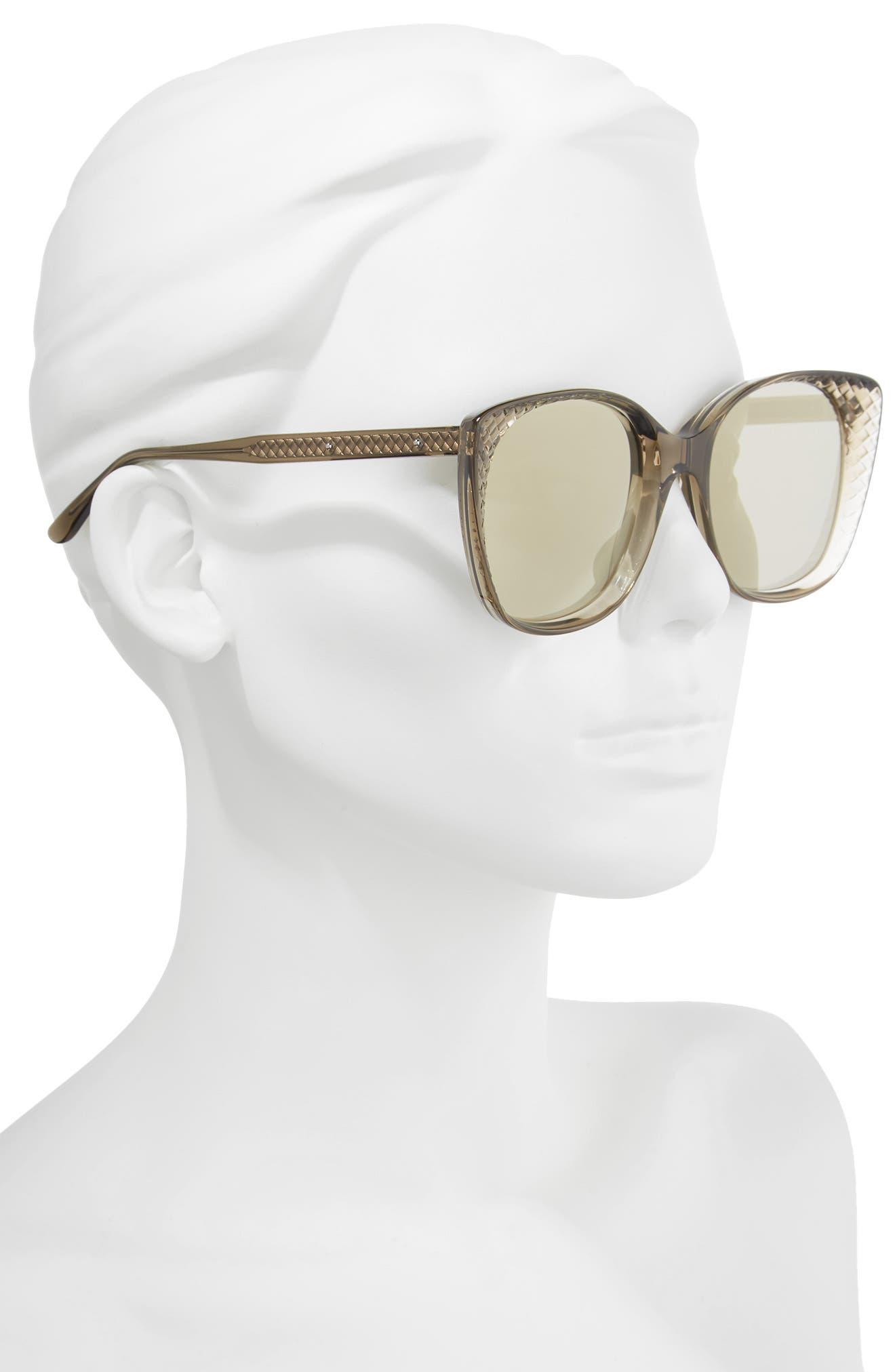 54mm Sunglasses,                             Alternate thumbnail 2, color,                             BROWN