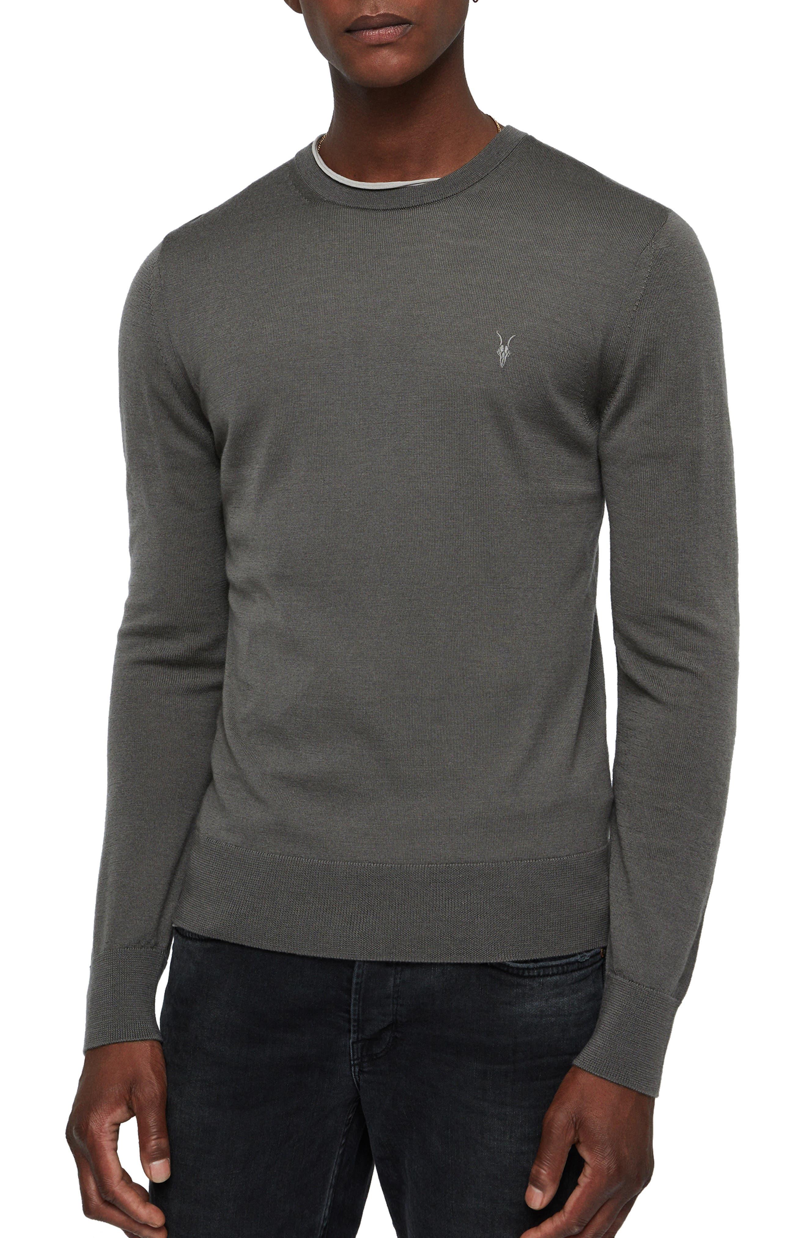 Mode Slim Fit Merino Wool Sweater,                             Main thumbnail 2, color,