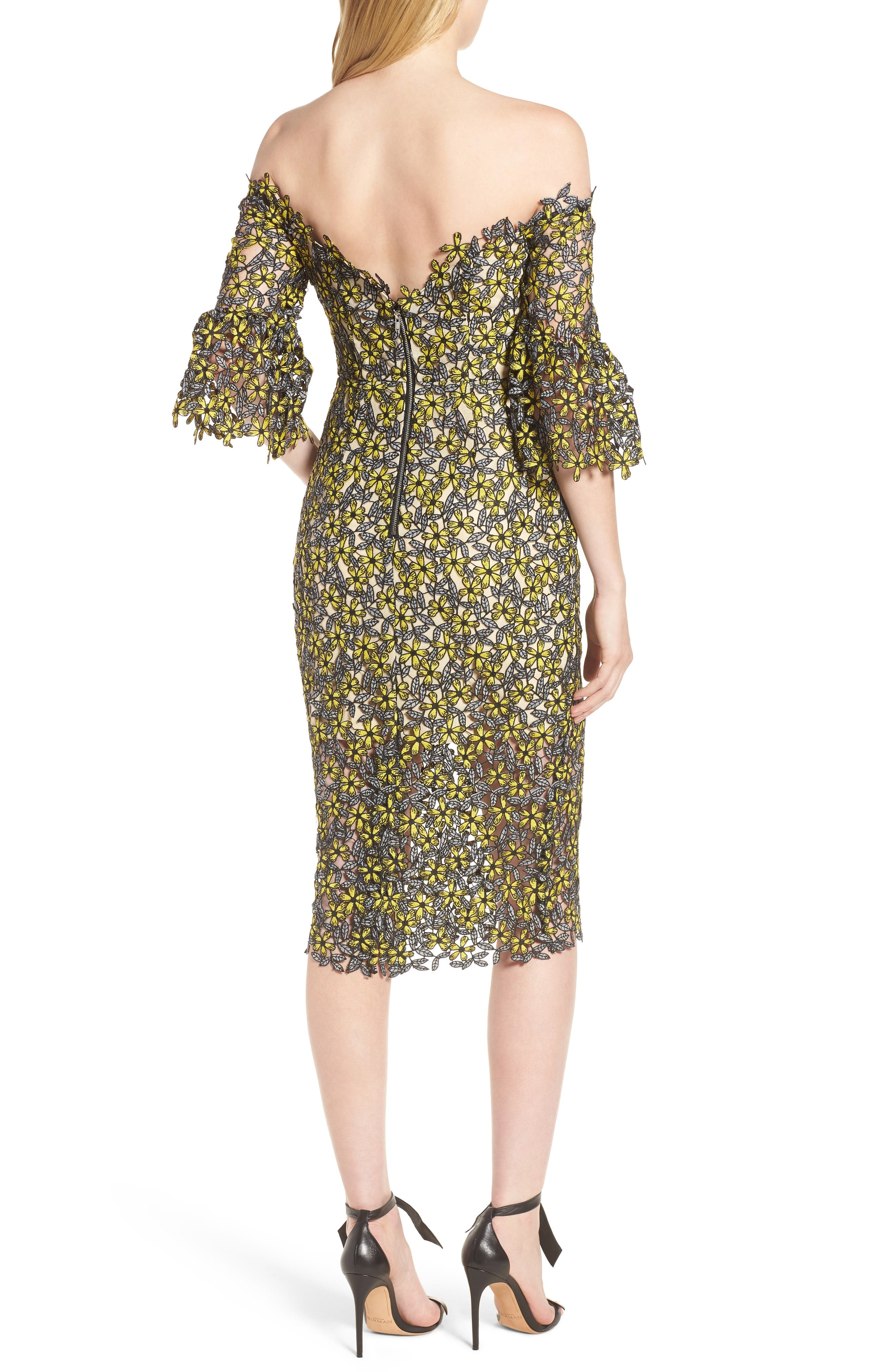 Eden Off the Shoulder Lace Dress,                             Alternate thumbnail 2, color,                             700