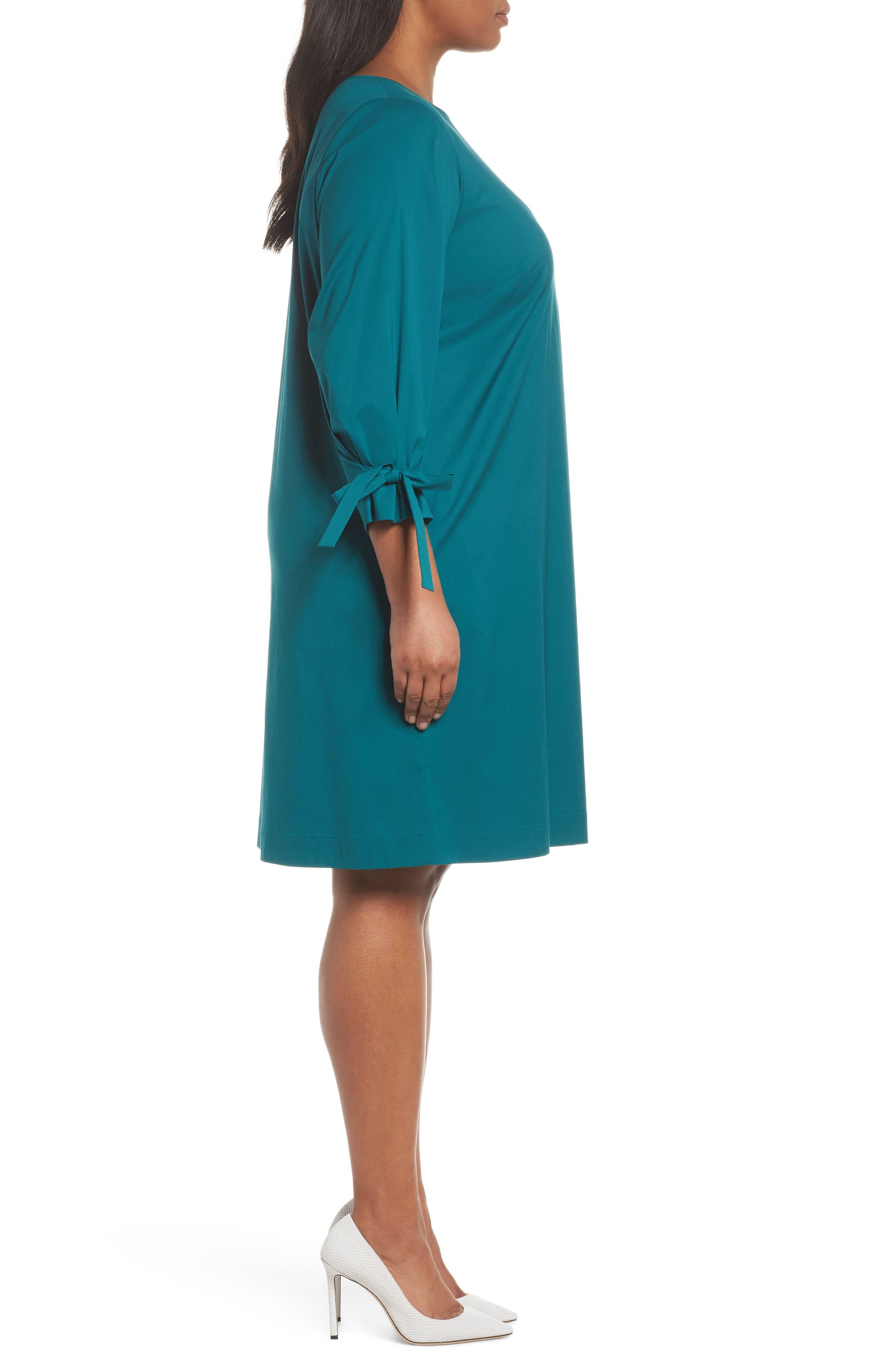 Paige Shift Dress,                             Alternate thumbnail 3, color,                             432