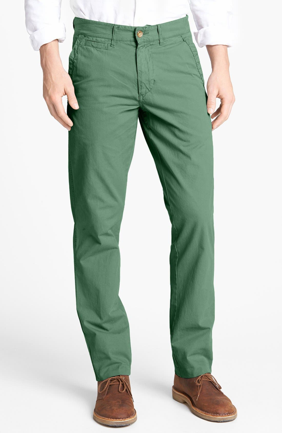 'Sahara' Trim Fit Vintage Washed Twill Chinos,                             Main thumbnail 7, color,