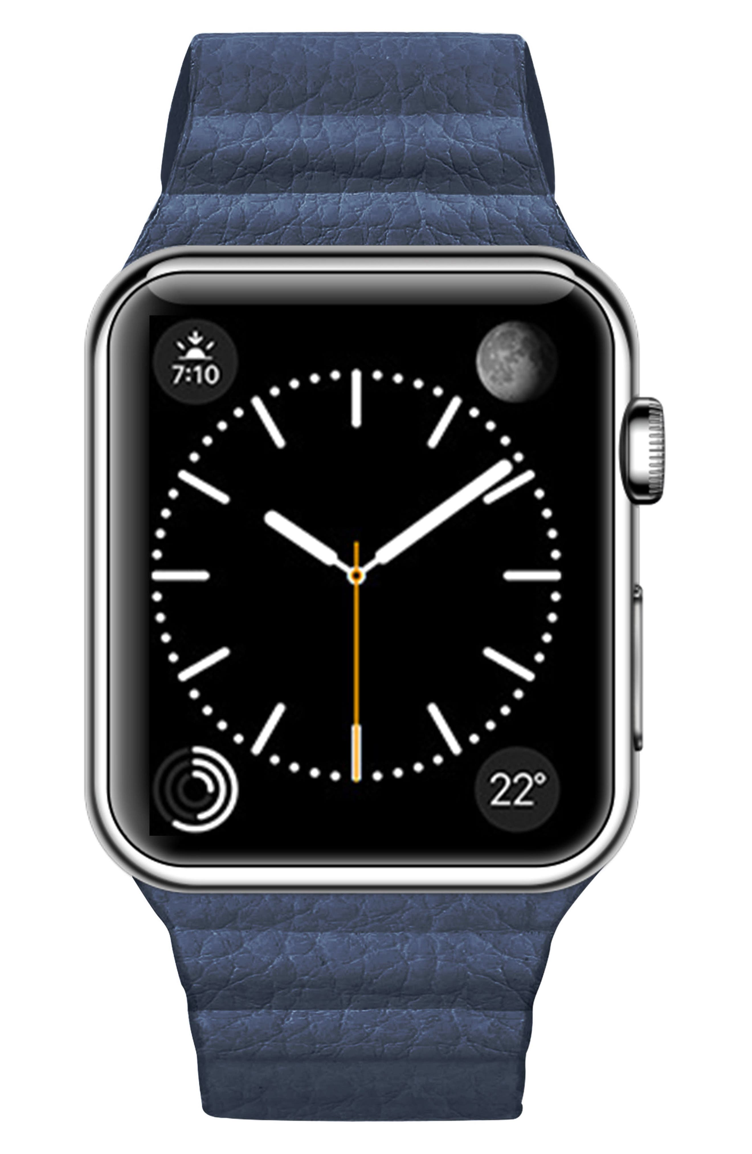 Magnetic Apple Watch Strap, 28mm,                             Main thumbnail 3, color,