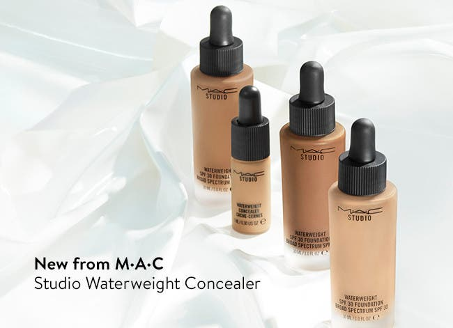 New from M·A·C - Studio Waterweight Concealer.