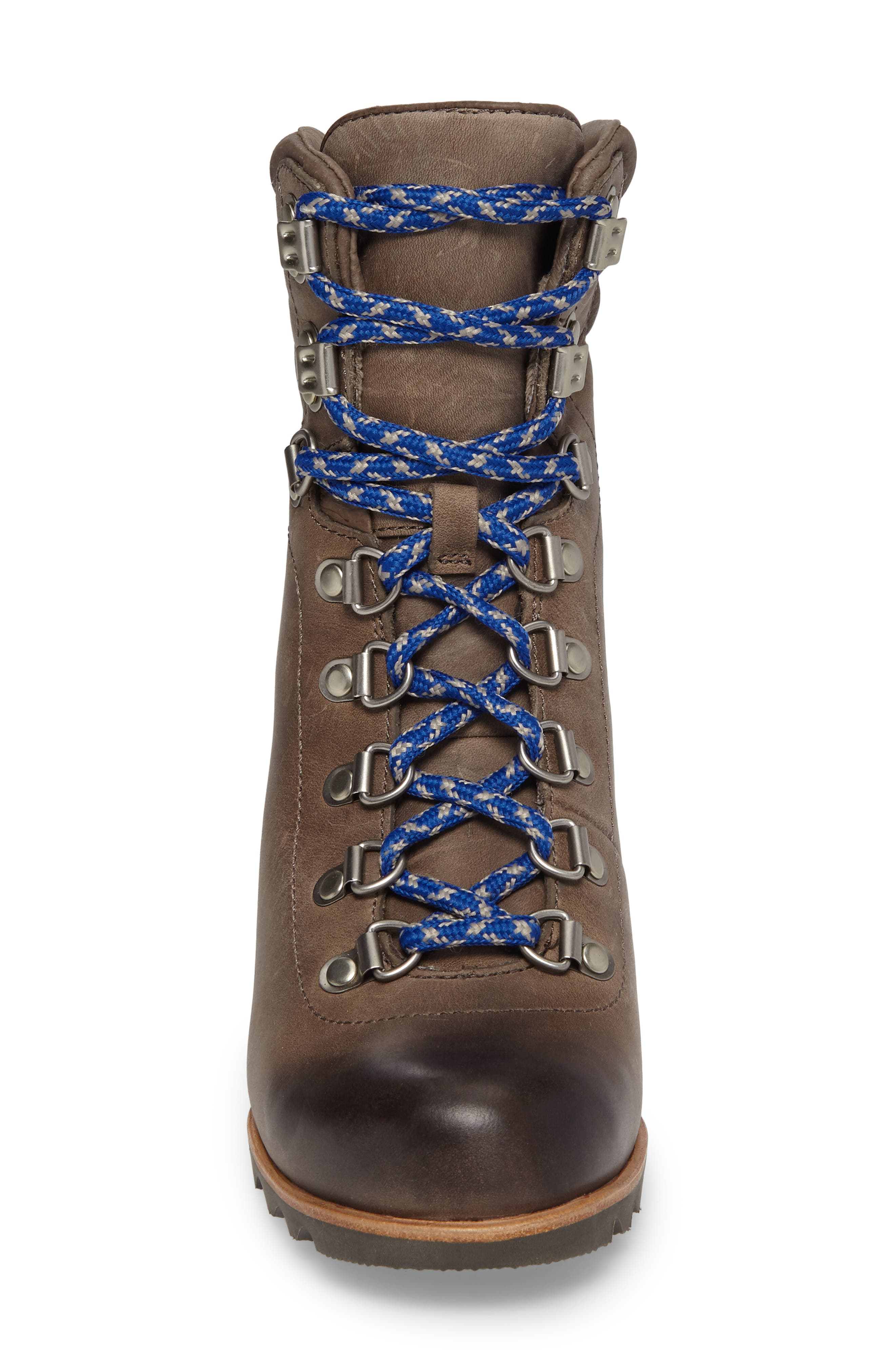 'Conquest' Waterproof Wedge Boot,                             Alternate thumbnail 17, color,