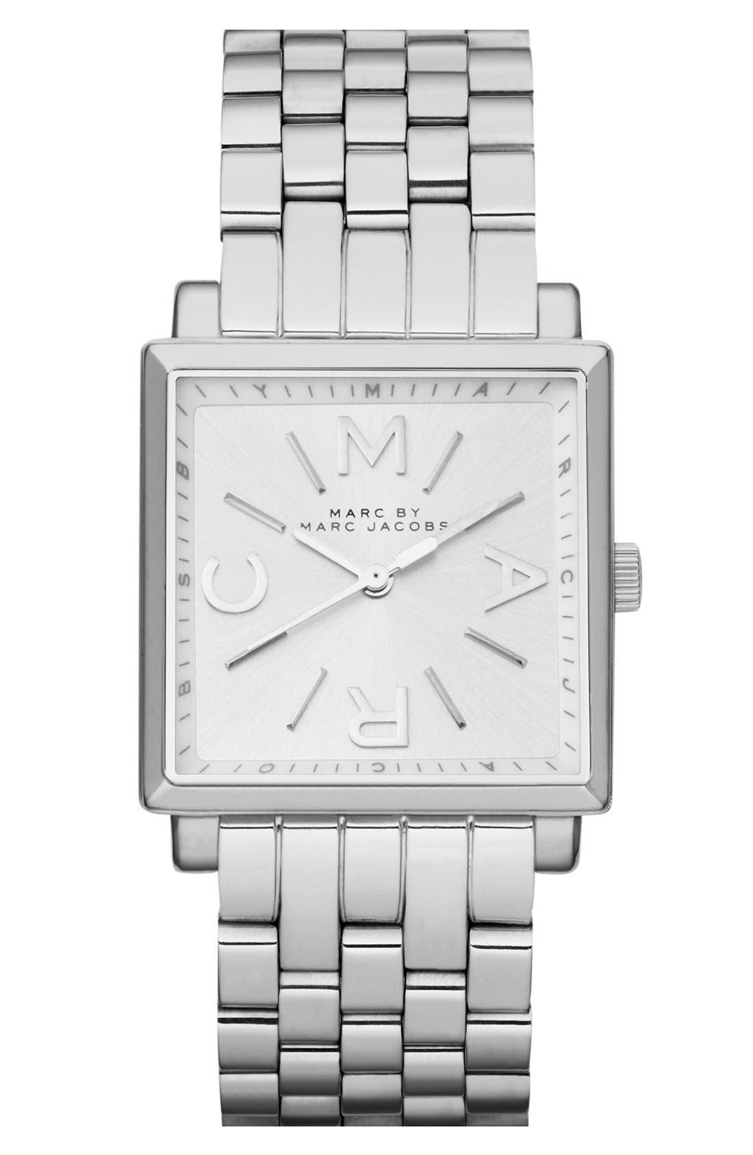 'Truman' Square Bracelet Watch, 30mm, Main, color, 040