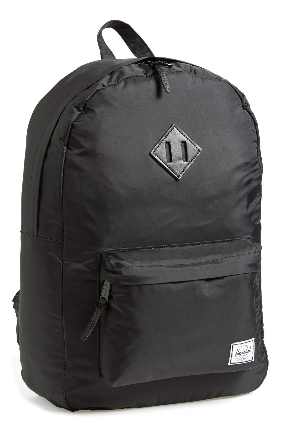 'Heritage' Nylon Backpack, Main, color, 007