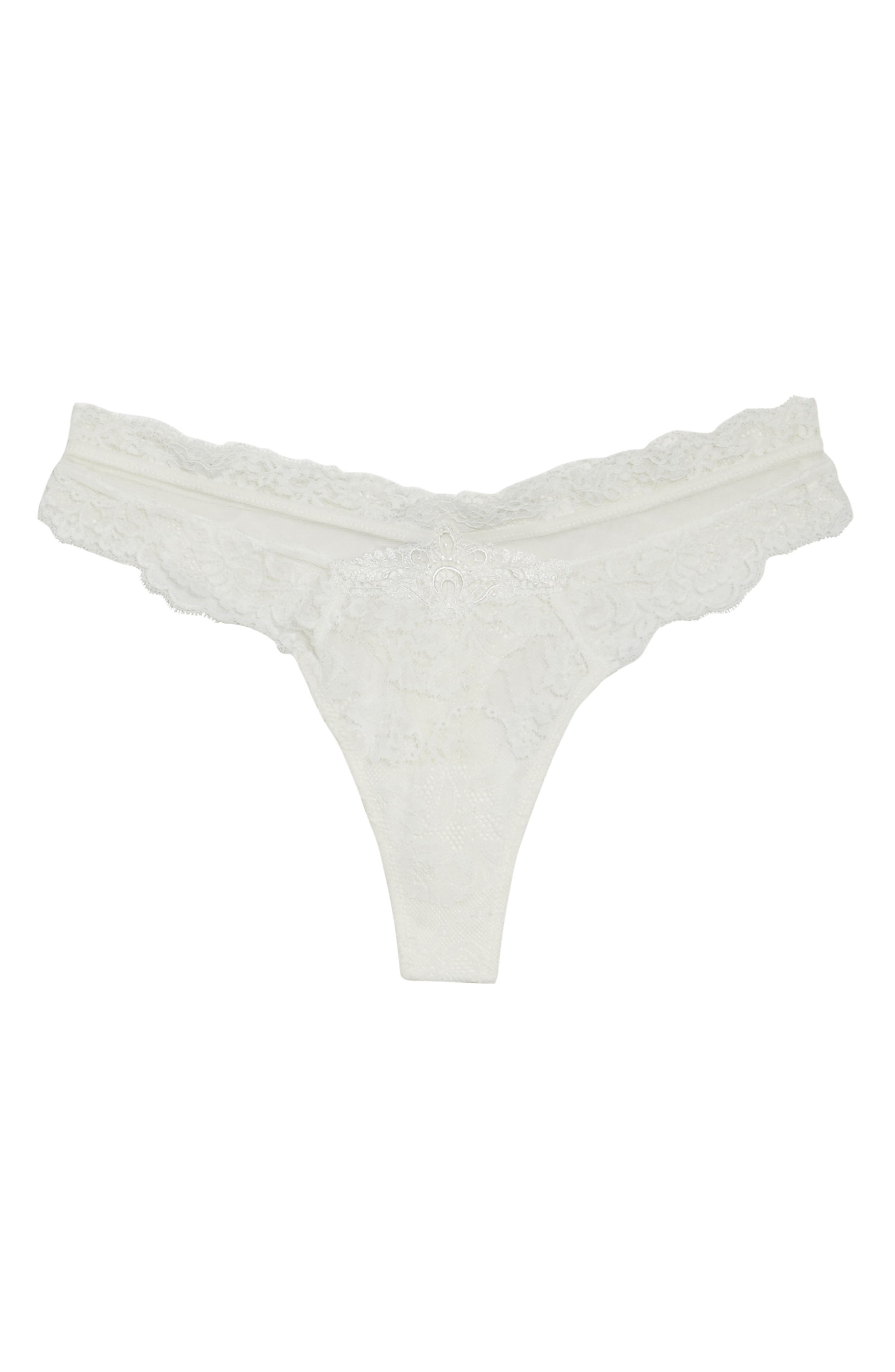 Exception Charme Thong,                             Alternate thumbnail 5, color,                             NACRE