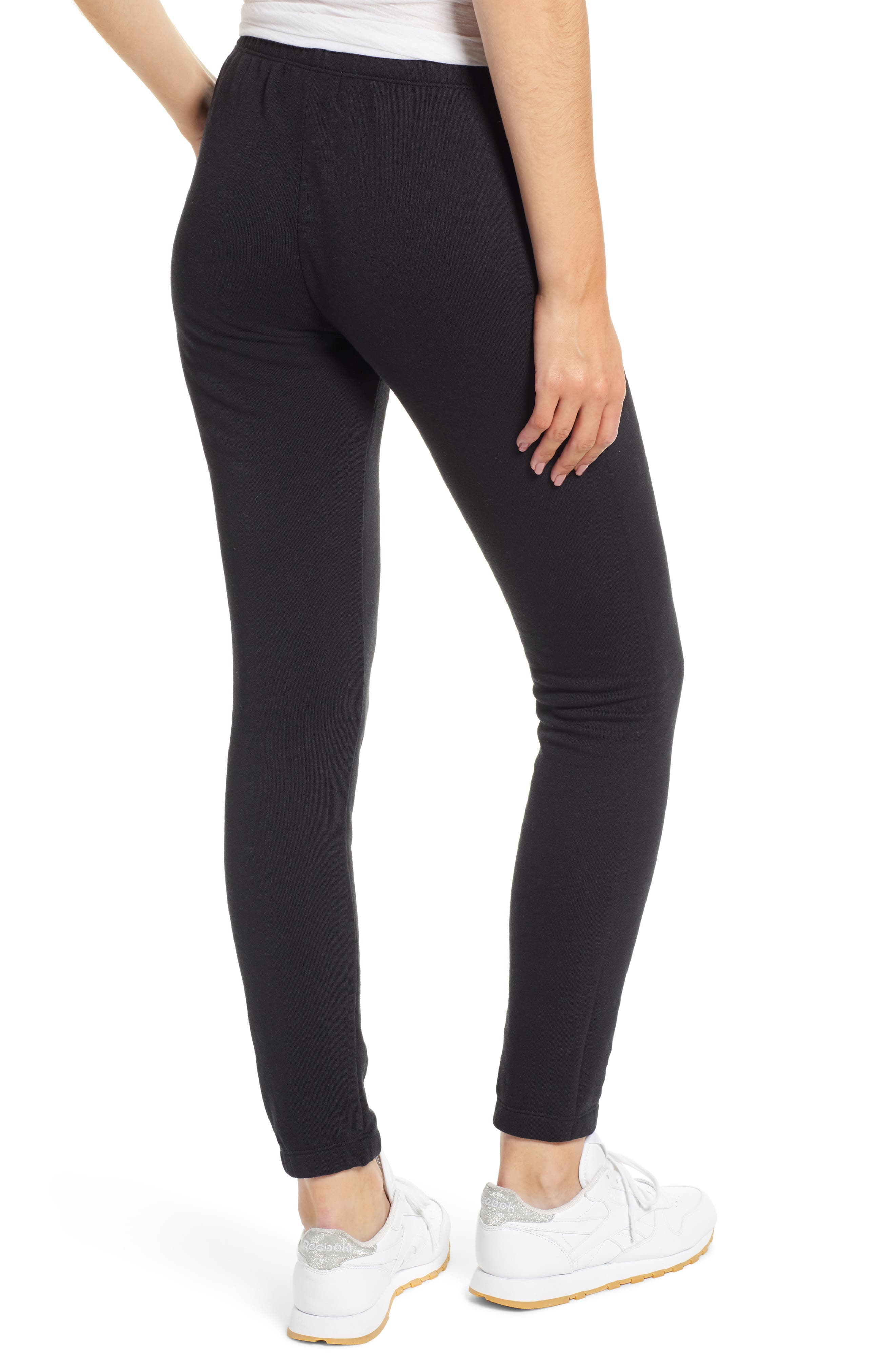 Knox Jogger Pants,                             Alternate thumbnail 2, color,                             JET BLACK