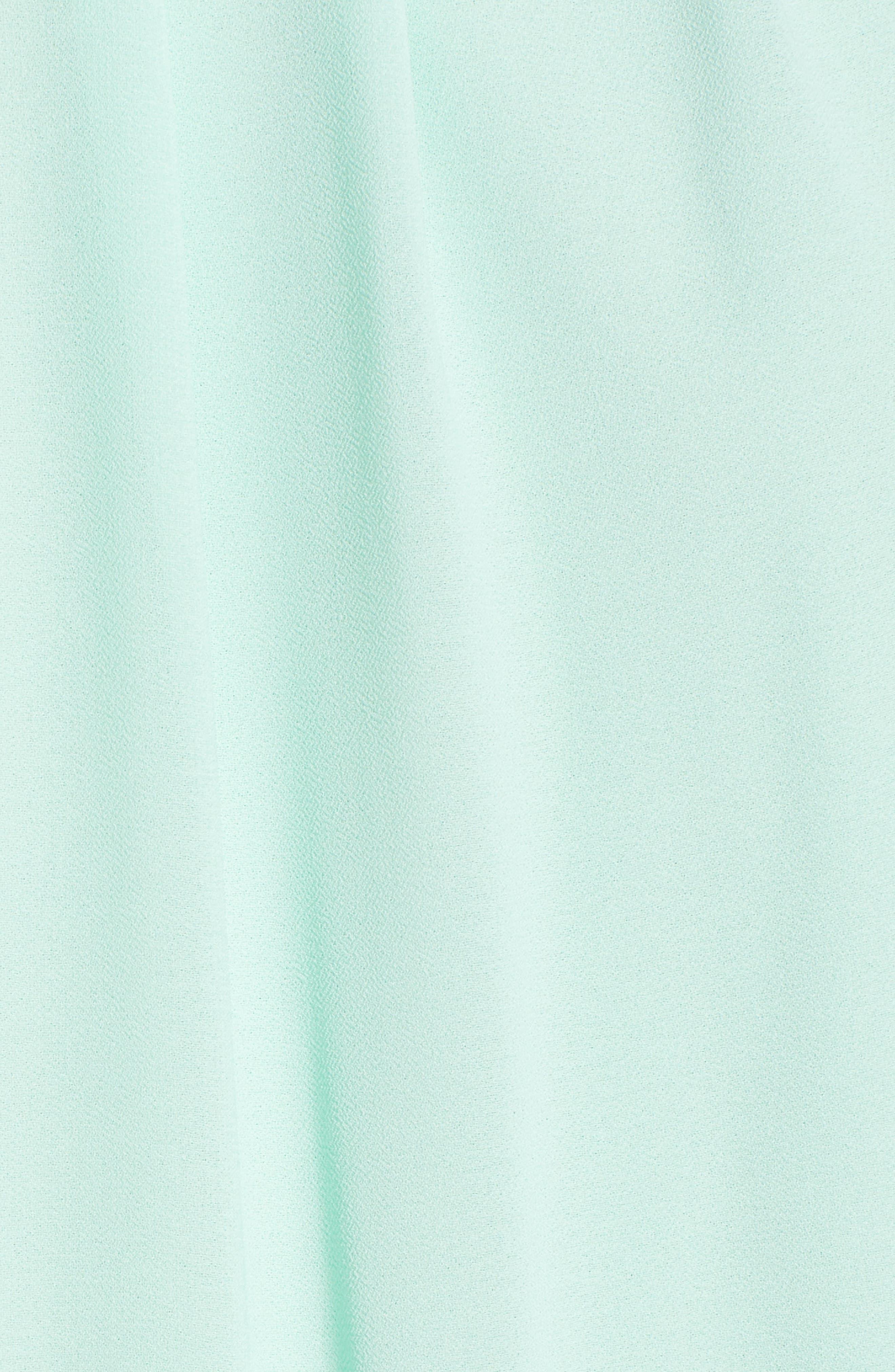 Blouson Chiffon Skater Dress,                             Alternate thumbnail 203, color,