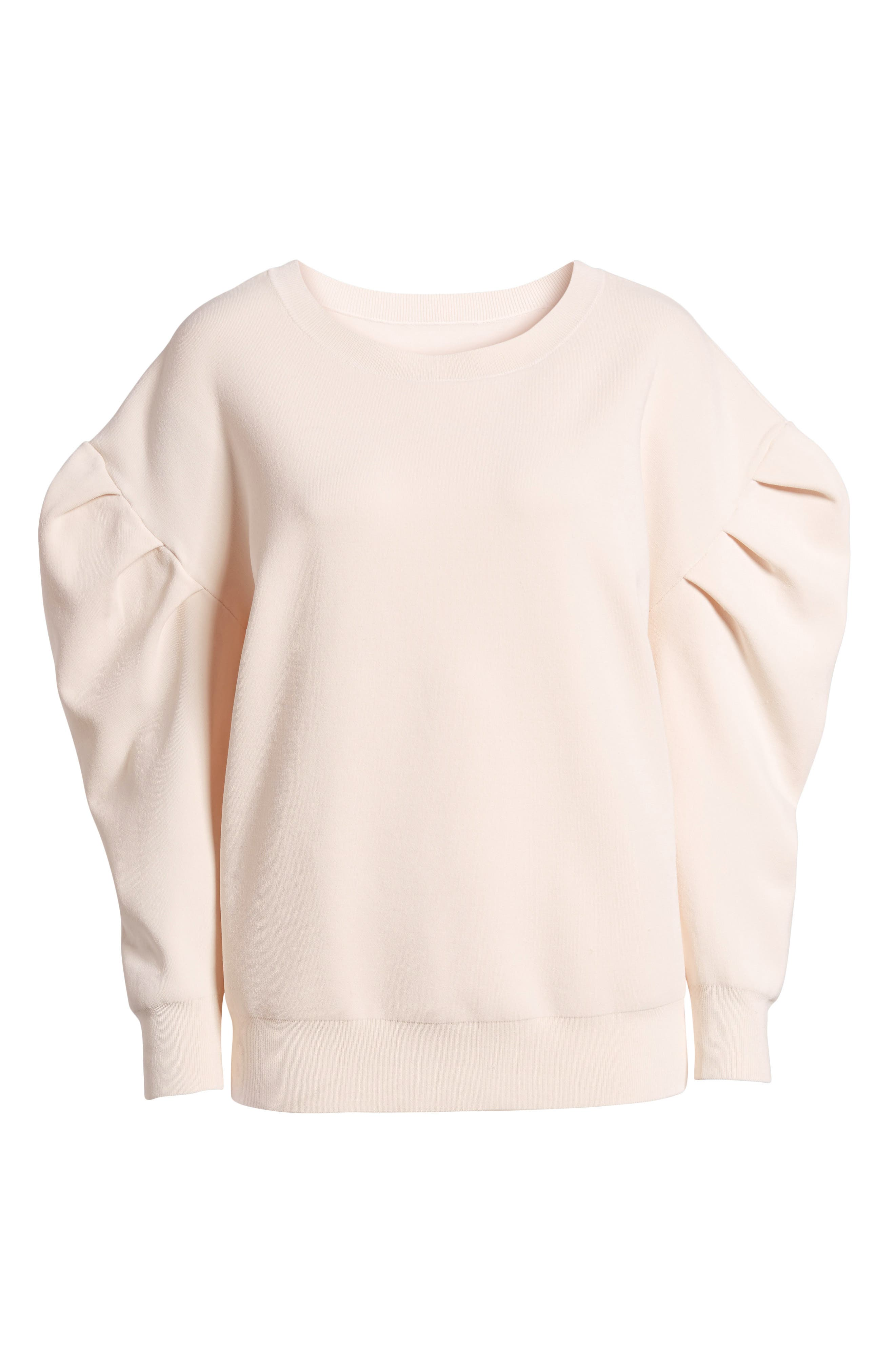 Puff Sleeve Sweater,                             Alternate thumbnail 6, color,                             680