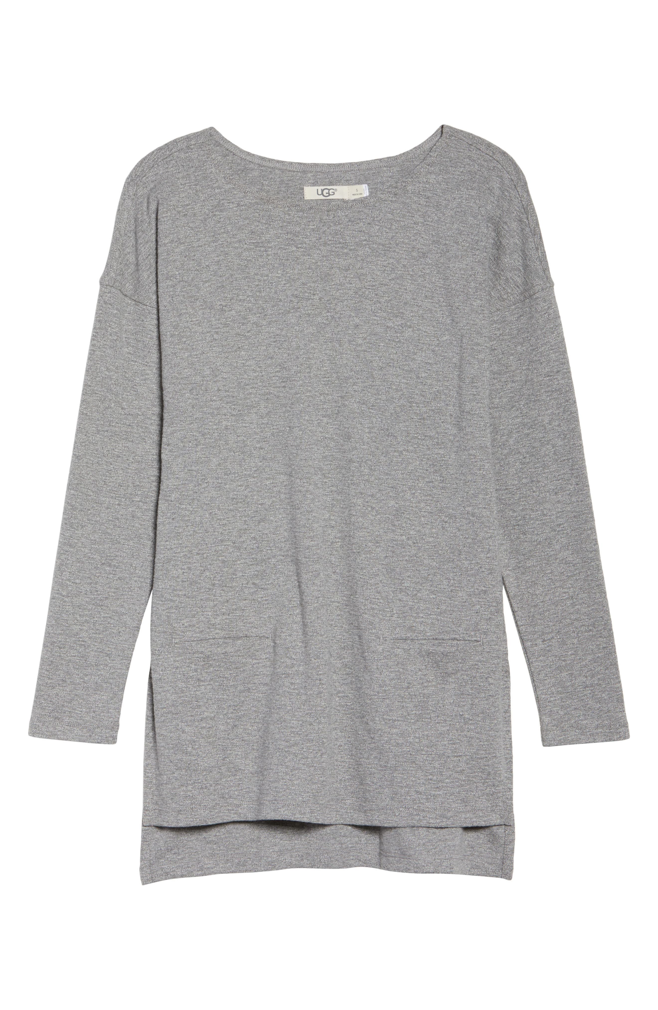Luella High/Low Cotton Pullover,                             Alternate thumbnail 6, color,                             041