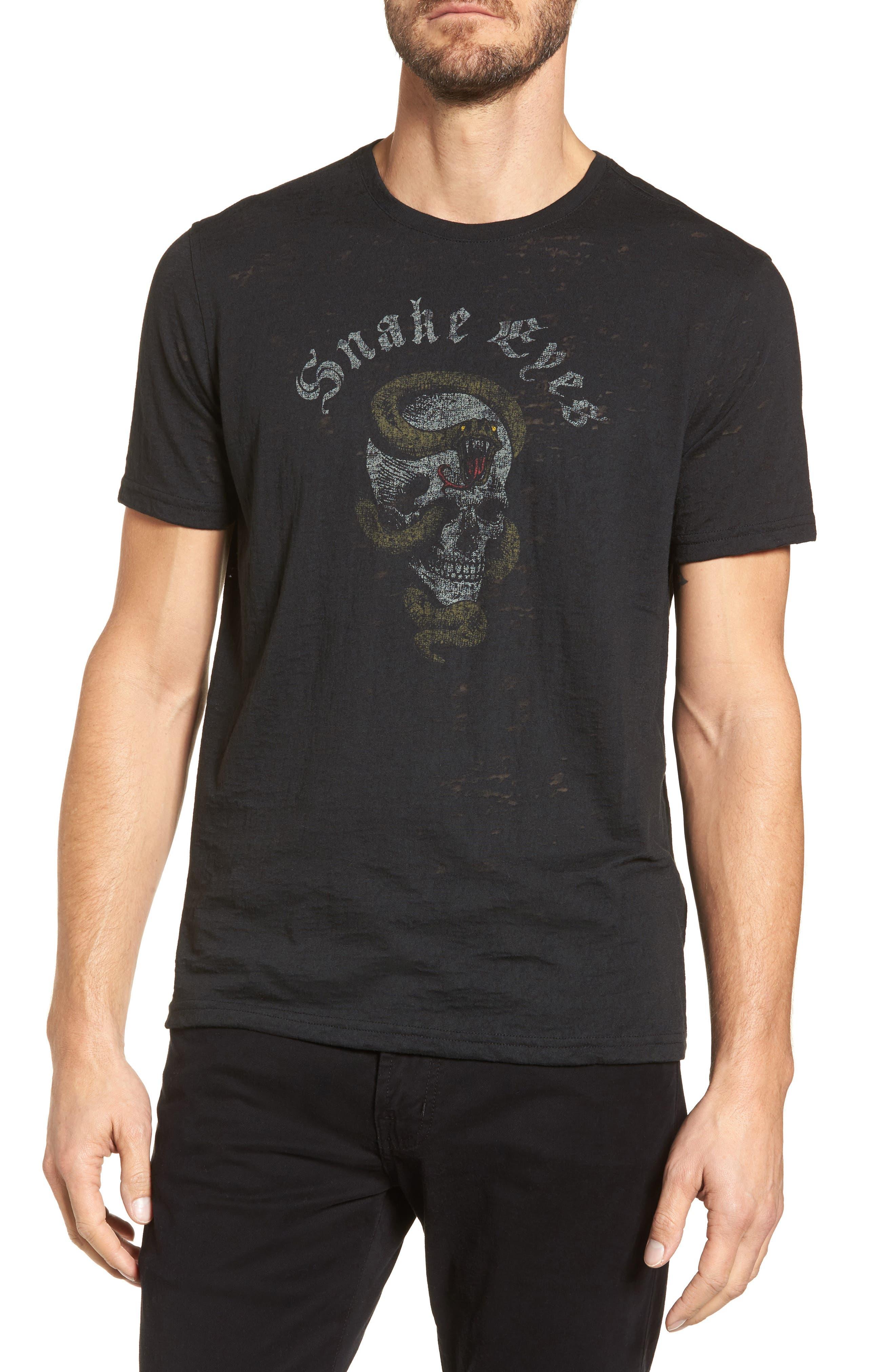 Snake Eyes Graphic T-Shirt,                             Main thumbnail 1, color,                             001