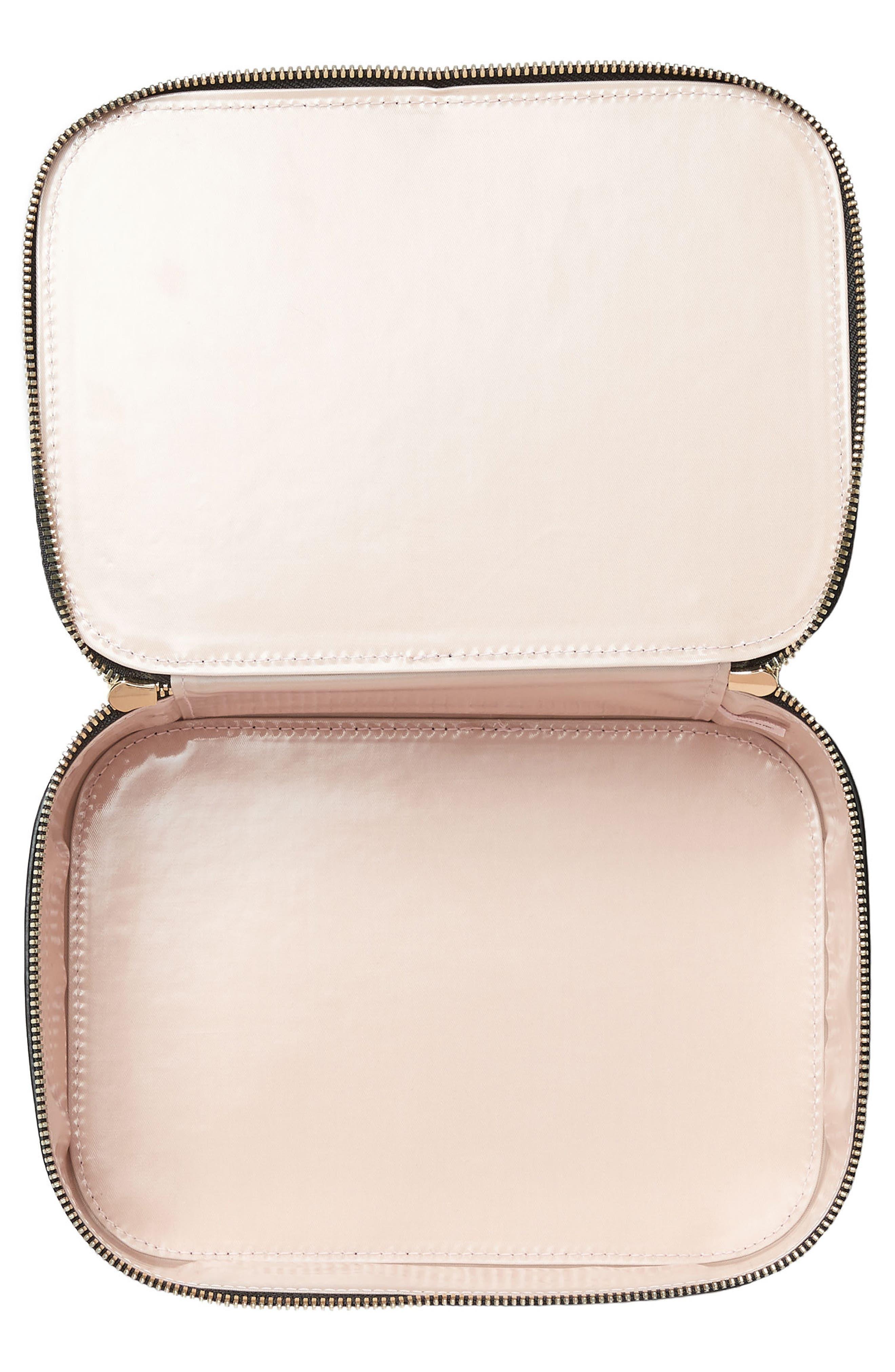 Bigger Personalized Makeup Bag,                             Alternate thumbnail 2, color,                             001