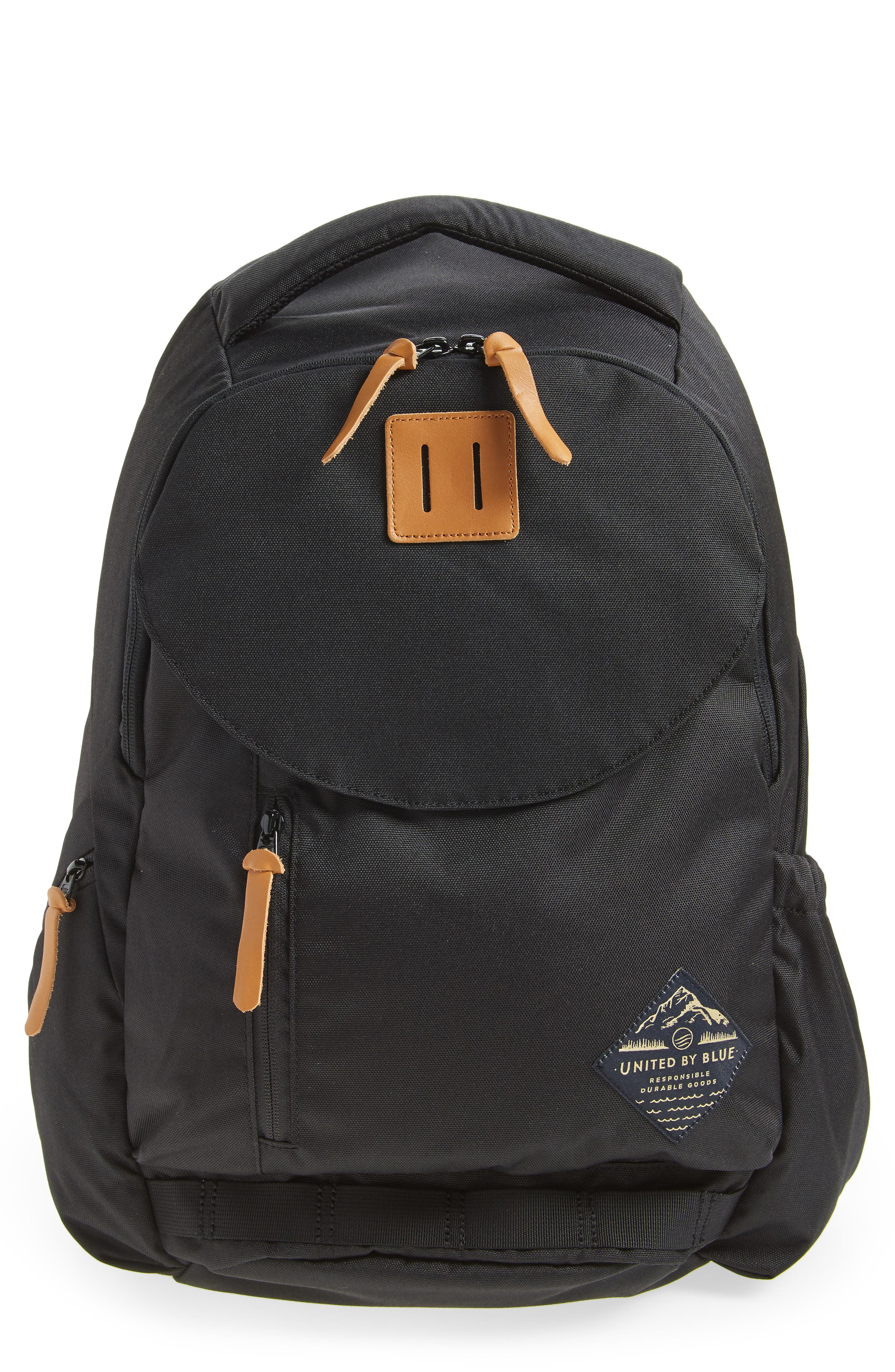United By Blue Rift Backpack - Black