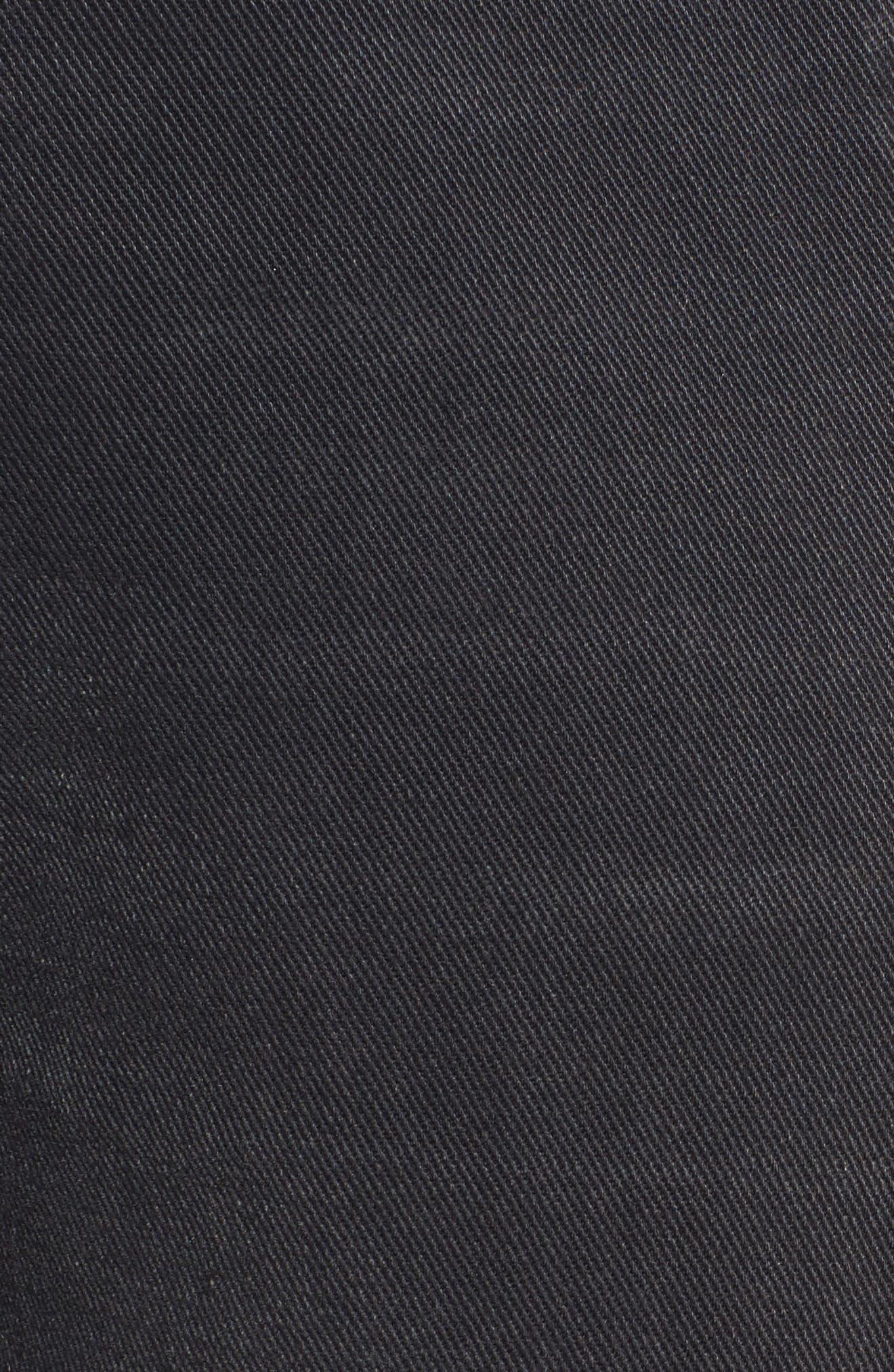 The Dallon Zip High Waist Crop Straight Jeans,                             Alternate thumbnail 5, color,                             405