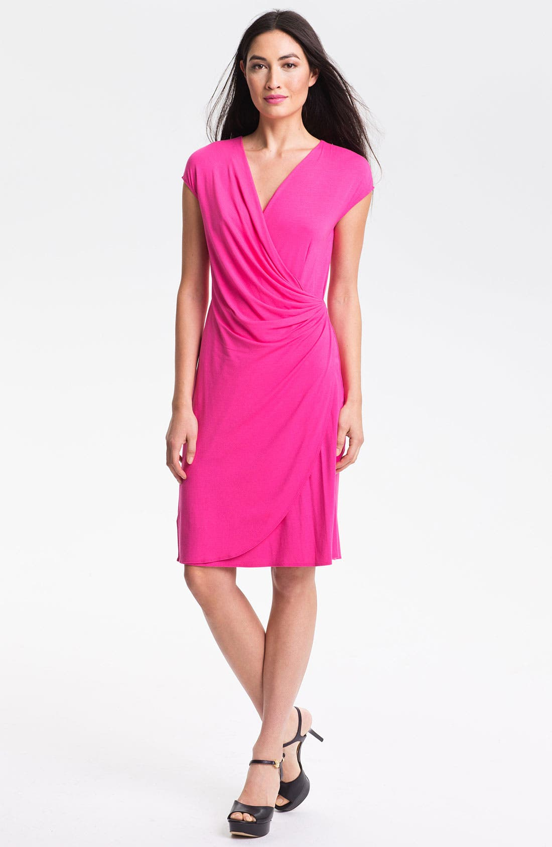 'Tambour' Side Gathered Dress,                             Main thumbnail 8, color,