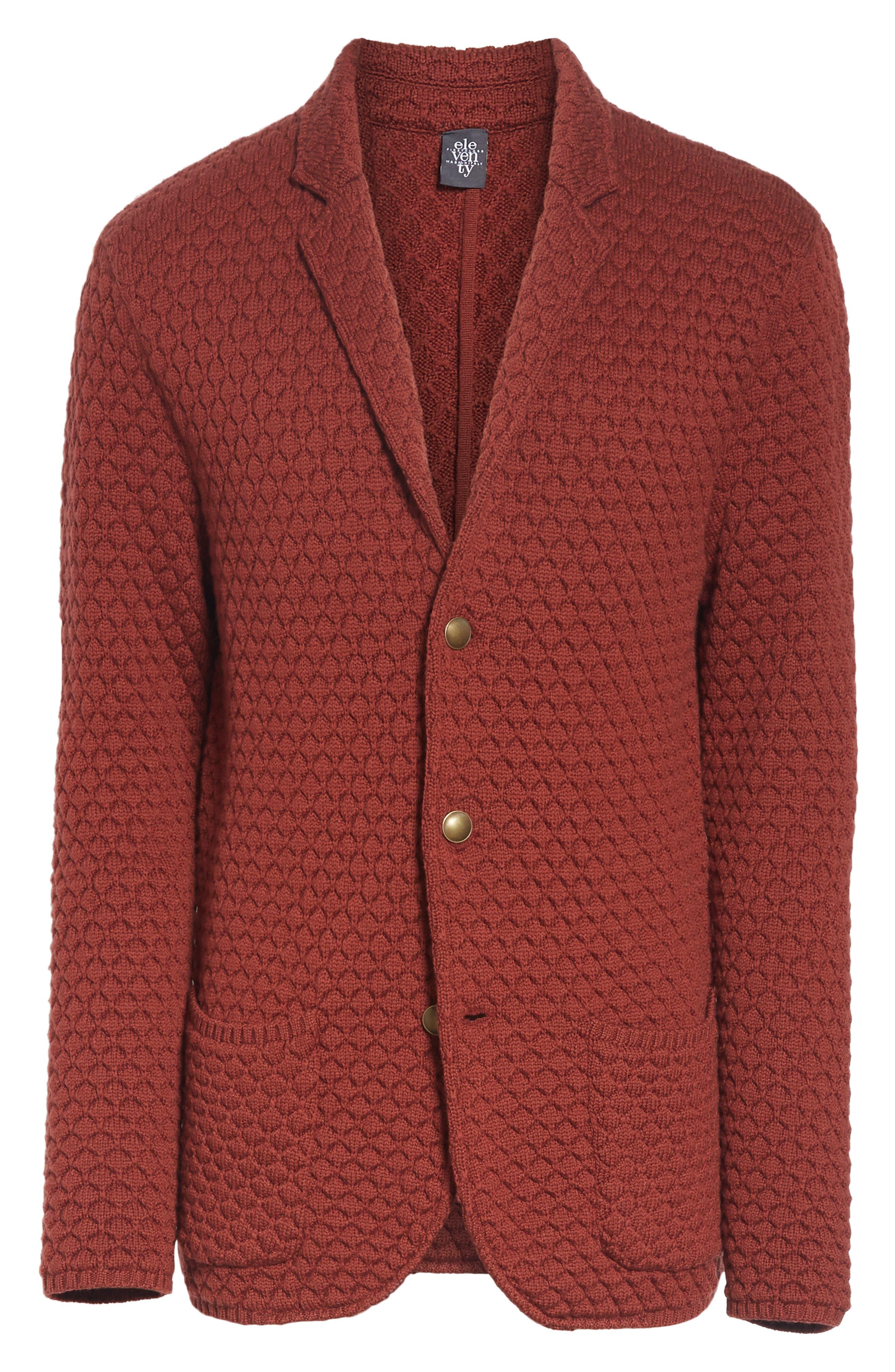 Wool Sweater Jacket,                             Alternate thumbnail 5, color,                             223