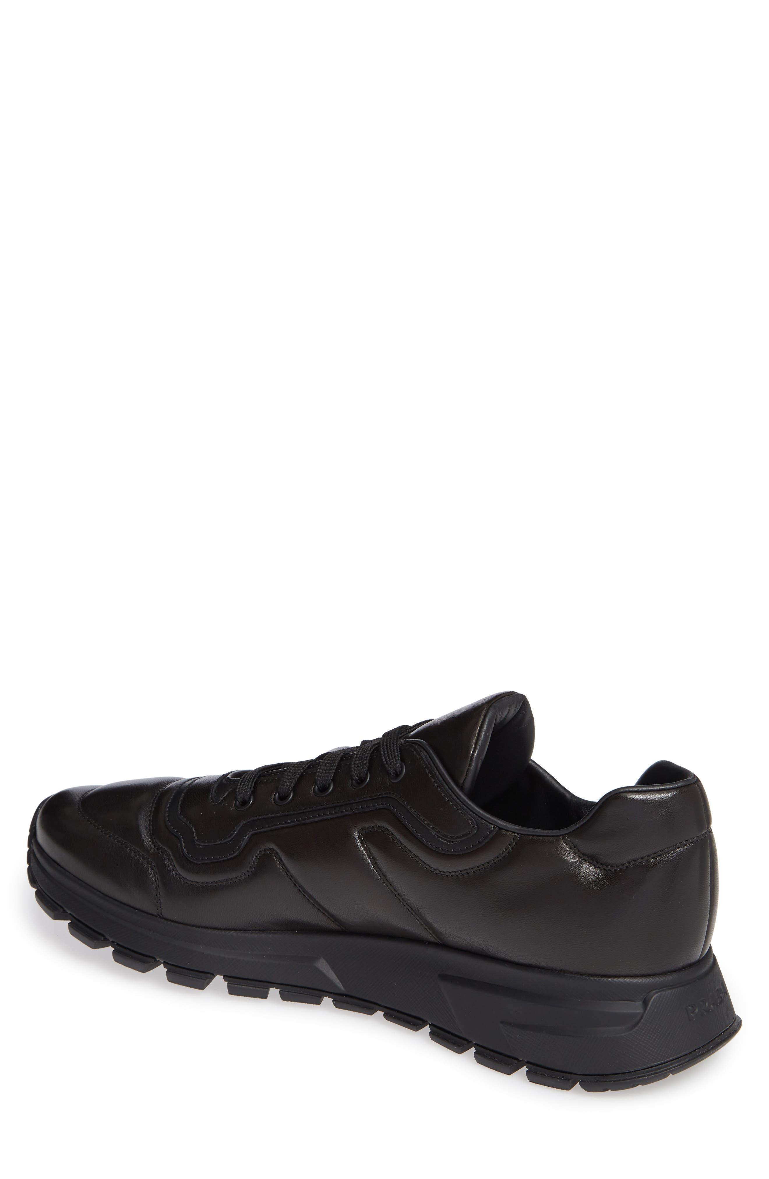 PRADA,                             Trainer Sneaker,                             Alternate thumbnail 2, color,                             NERO