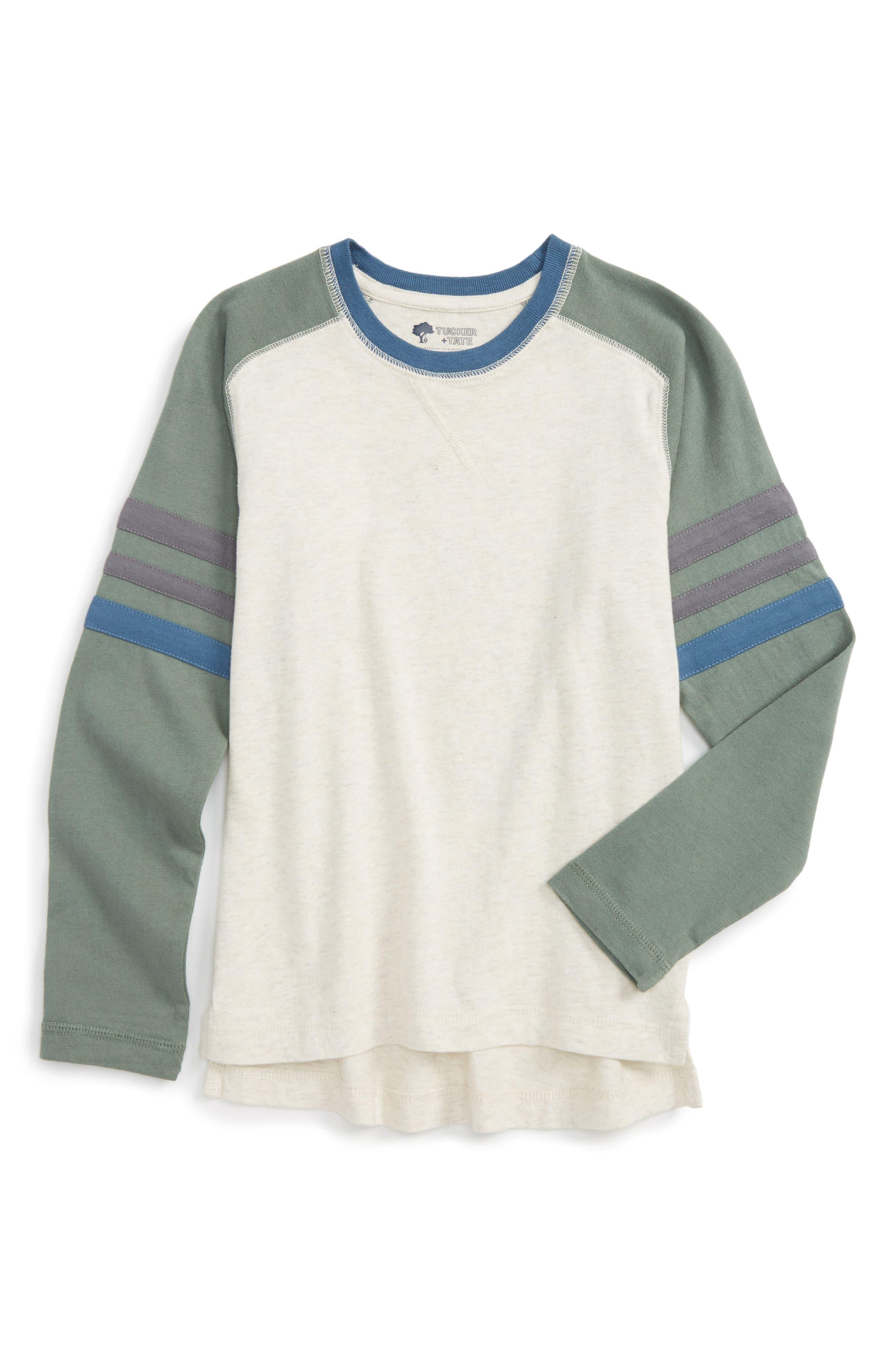 Varsity Raglan T-Shirt,                             Main thumbnail 2, color,