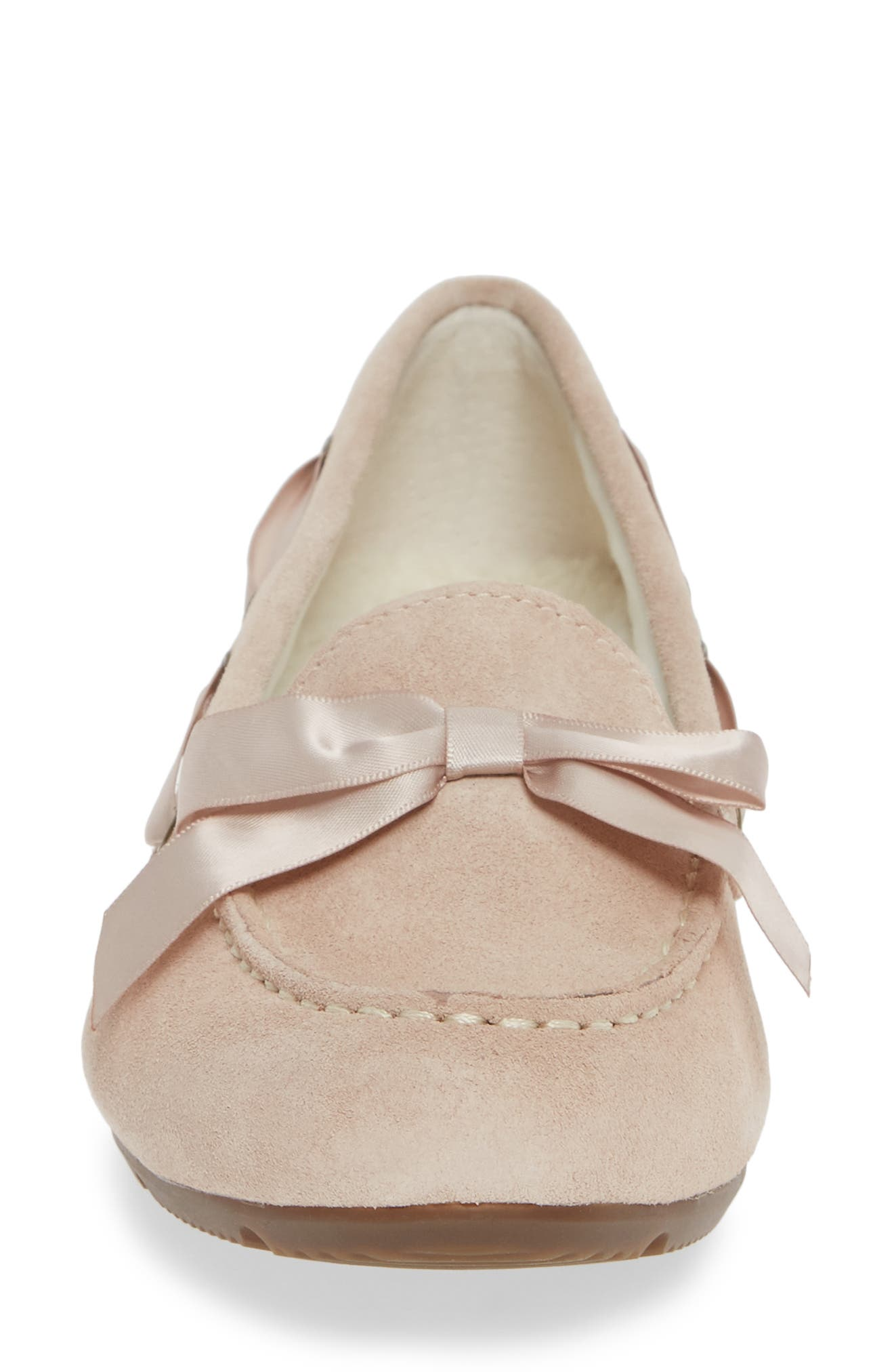 Alice Moccasin,                             Alternate thumbnail 4, color,                             NUDE SUEDE