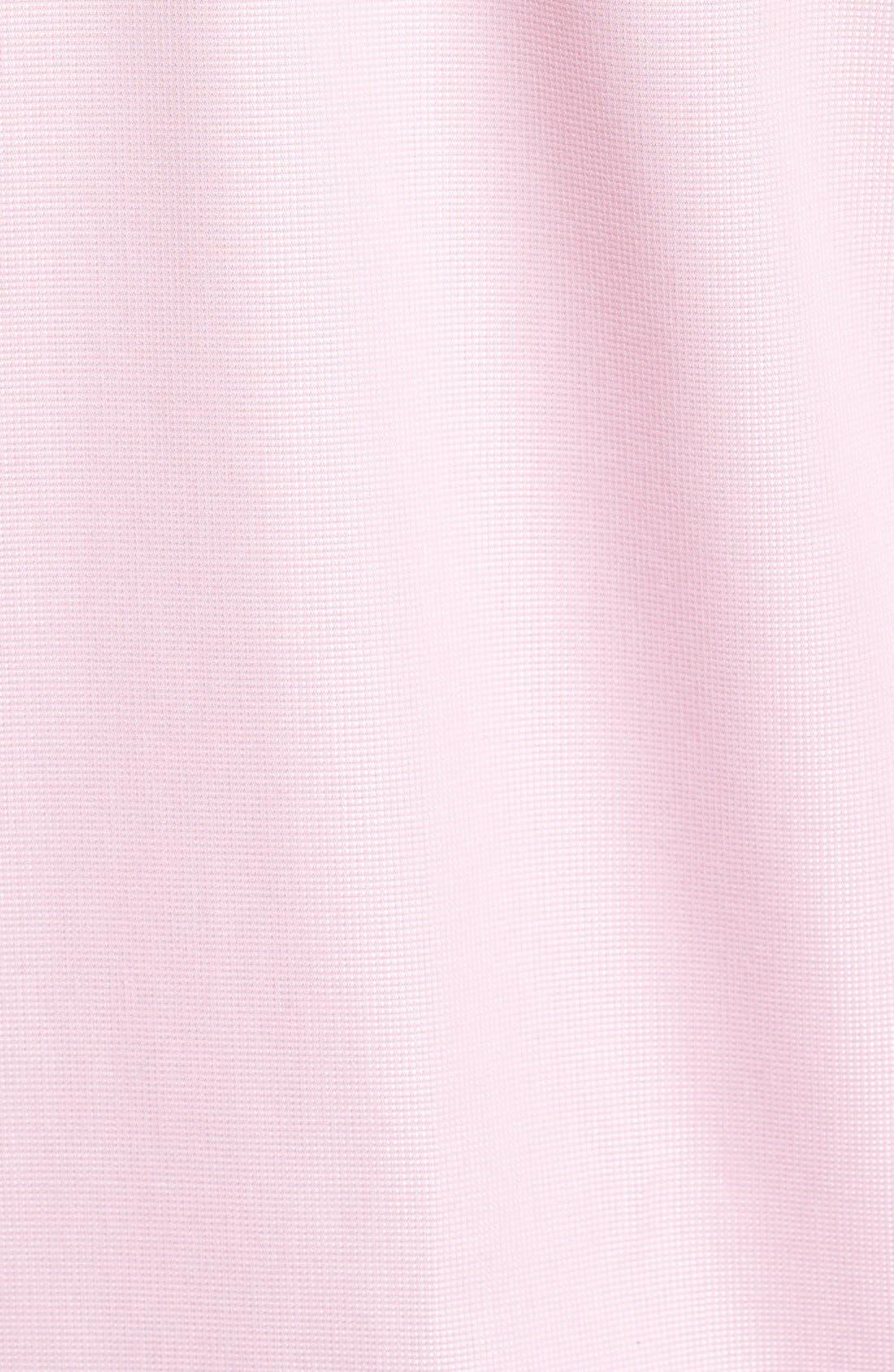 'Classic' Smartcare<sup>™</sup> Regular Fit Short Sleeve Cotton Sport Shirt,                             Alternate thumbnail 43, color,