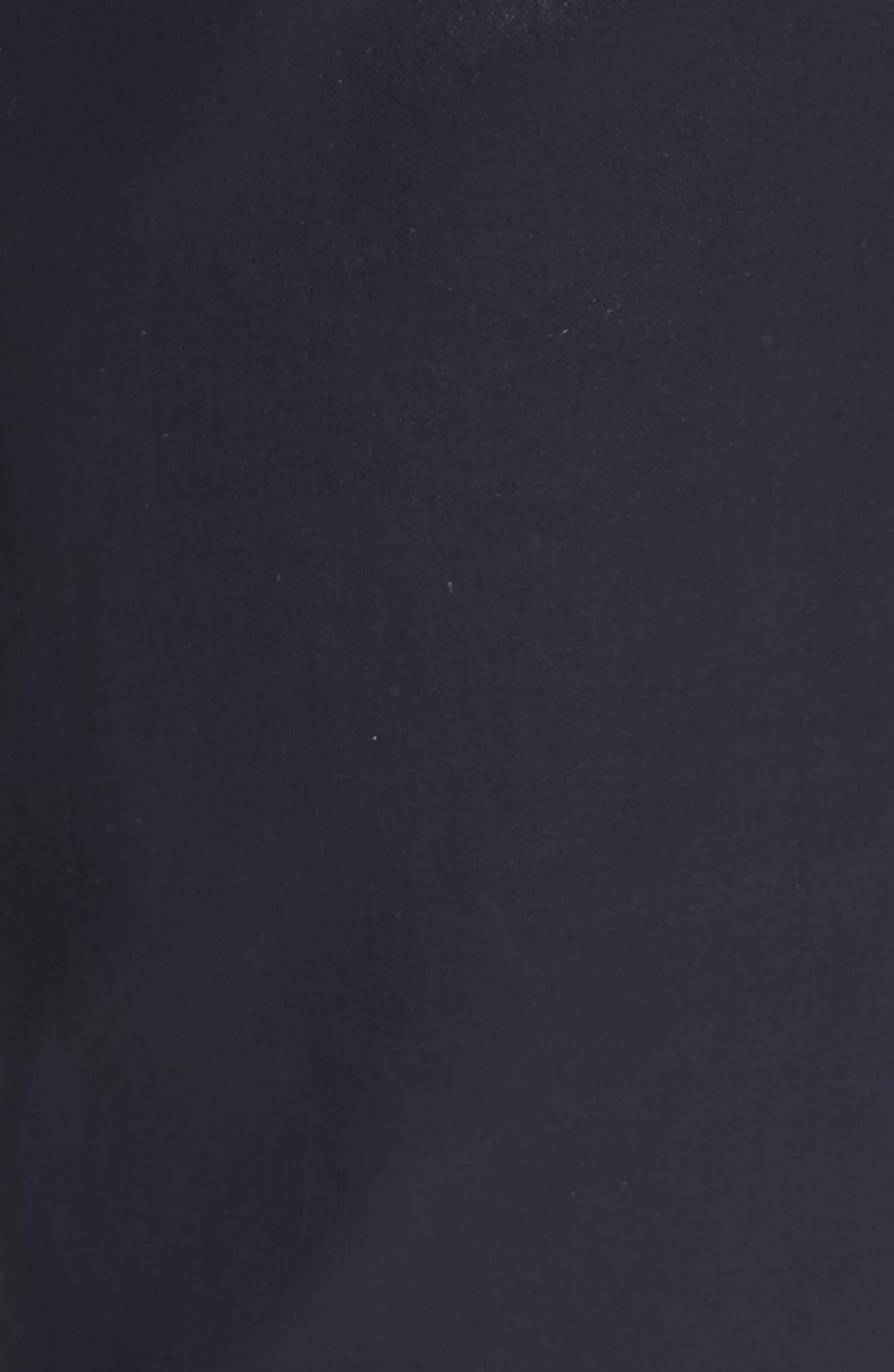'The Legging' Coated Ankle Jeans,                             Alternate thumbnail 6, color,                             LEATHERETT BLUE VAULT