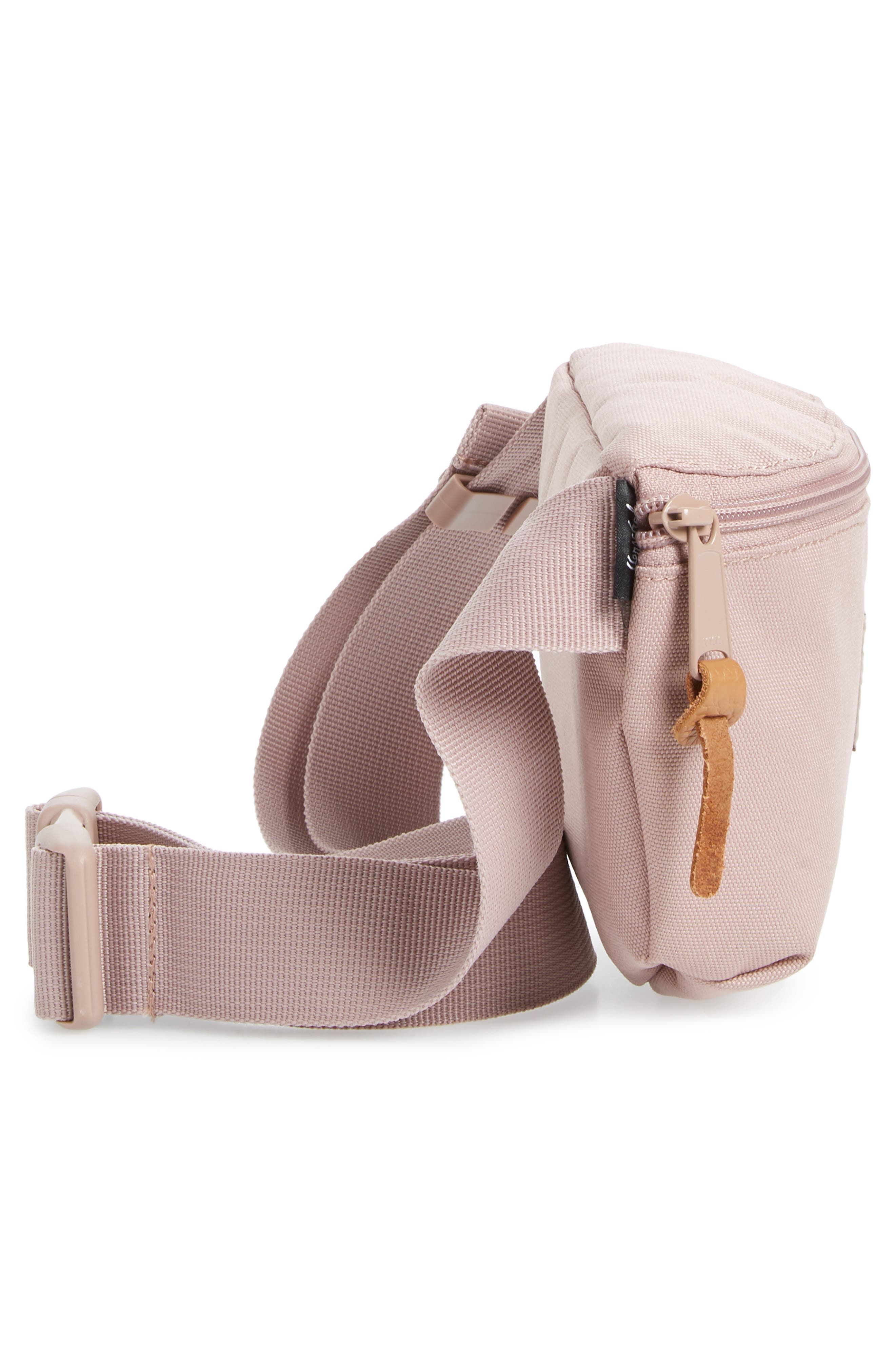Fourteen Belt Bag,                             Alternate thumbnail 6, color,                             ASH ROSE