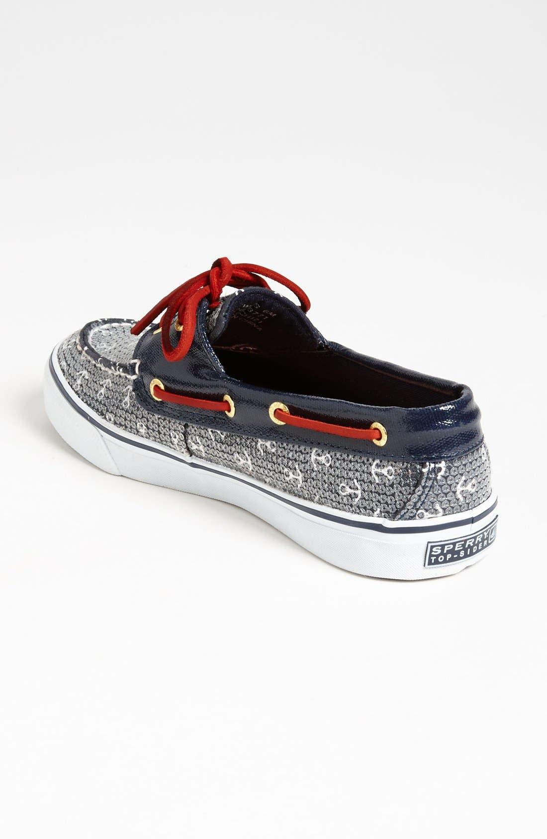 Top-Sider<sup>®</sup> 'Bahama' Sequined Boat Shoe,                             Alternate thumbnail 109, color,