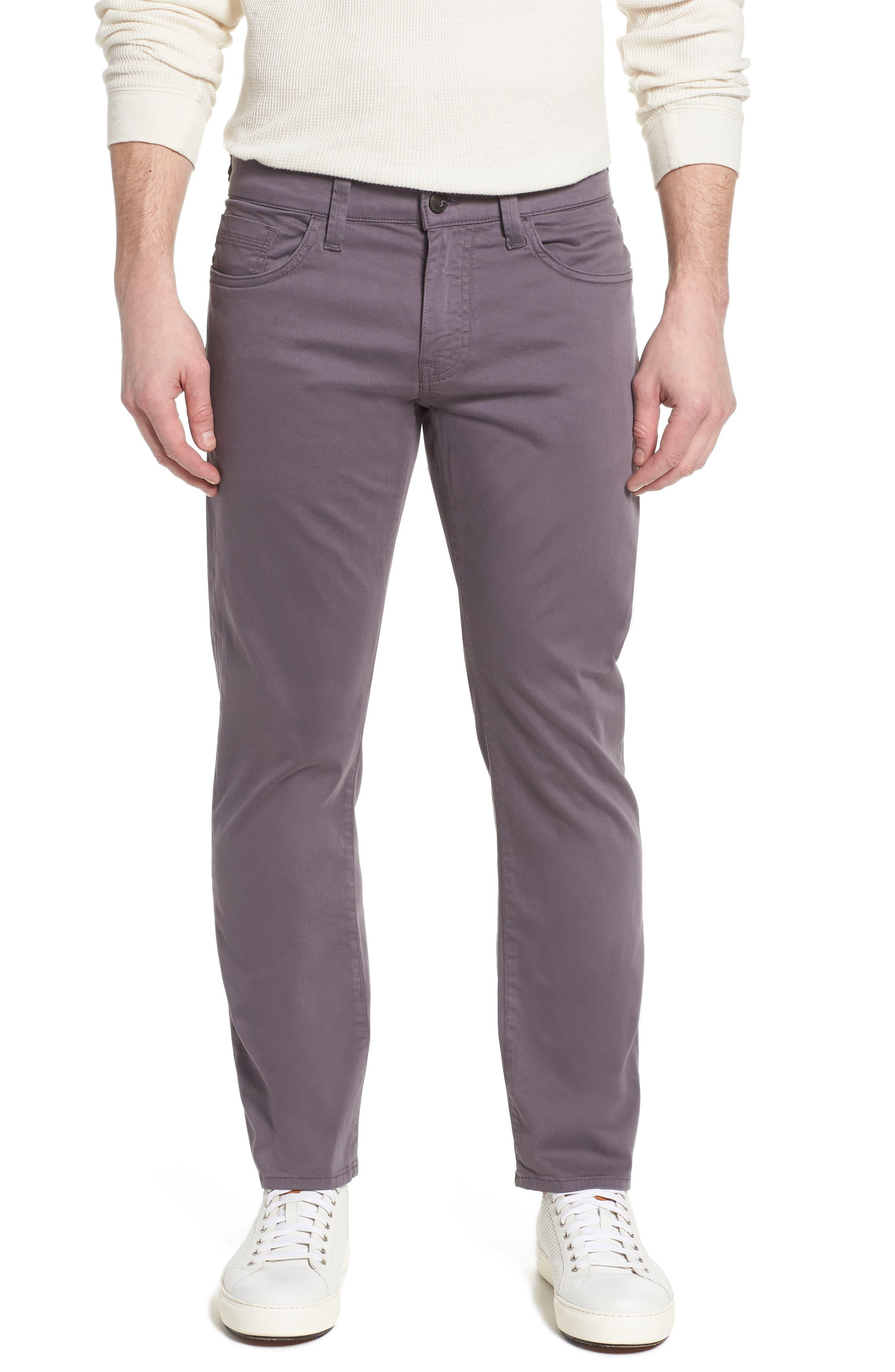 MAVI JEANS Zach Straight Fit Twill Pants, Main, color, 050
