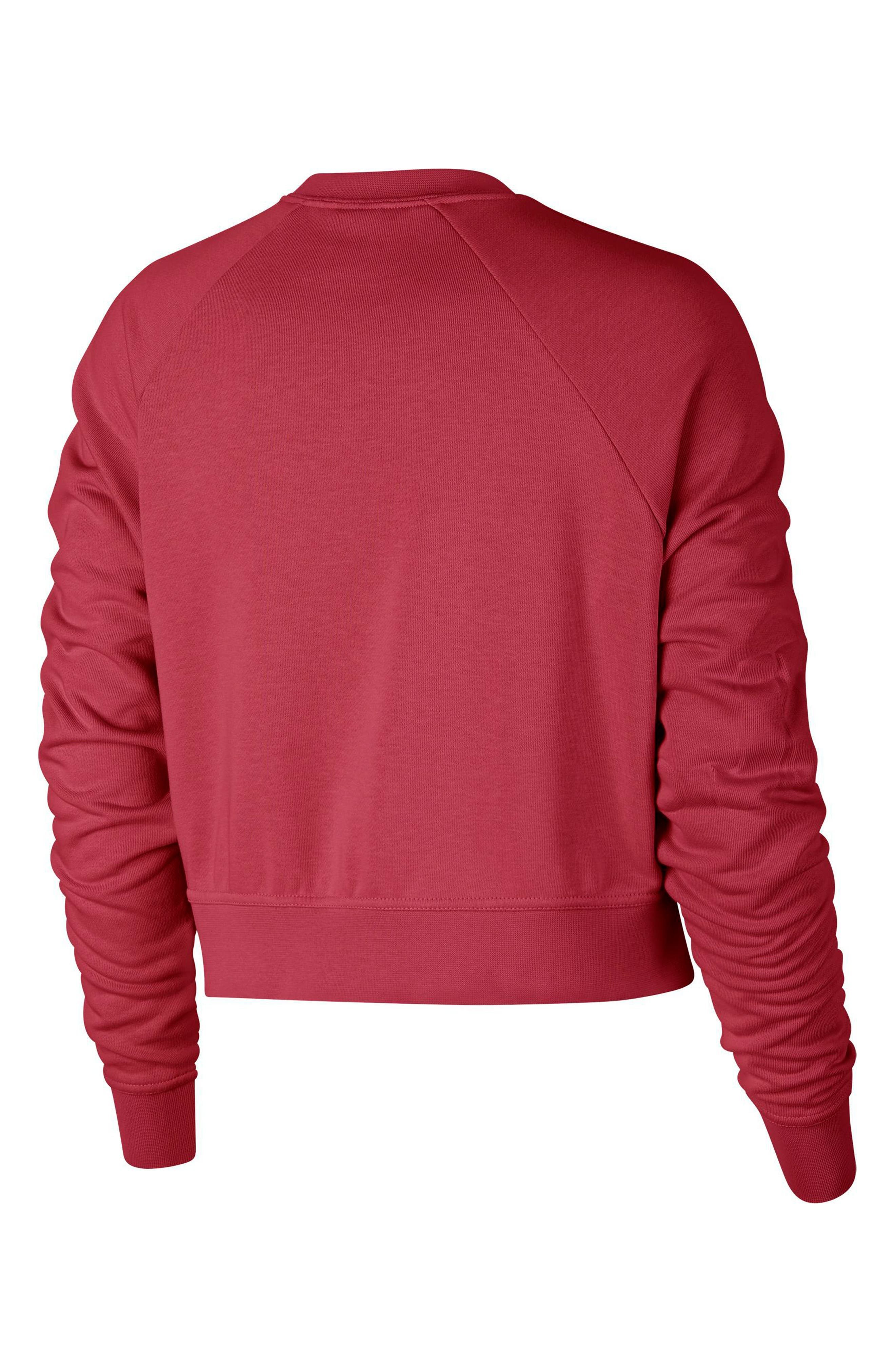 Long Sleeve Crop Training Top,                             Alternate thumbnail 28, color,