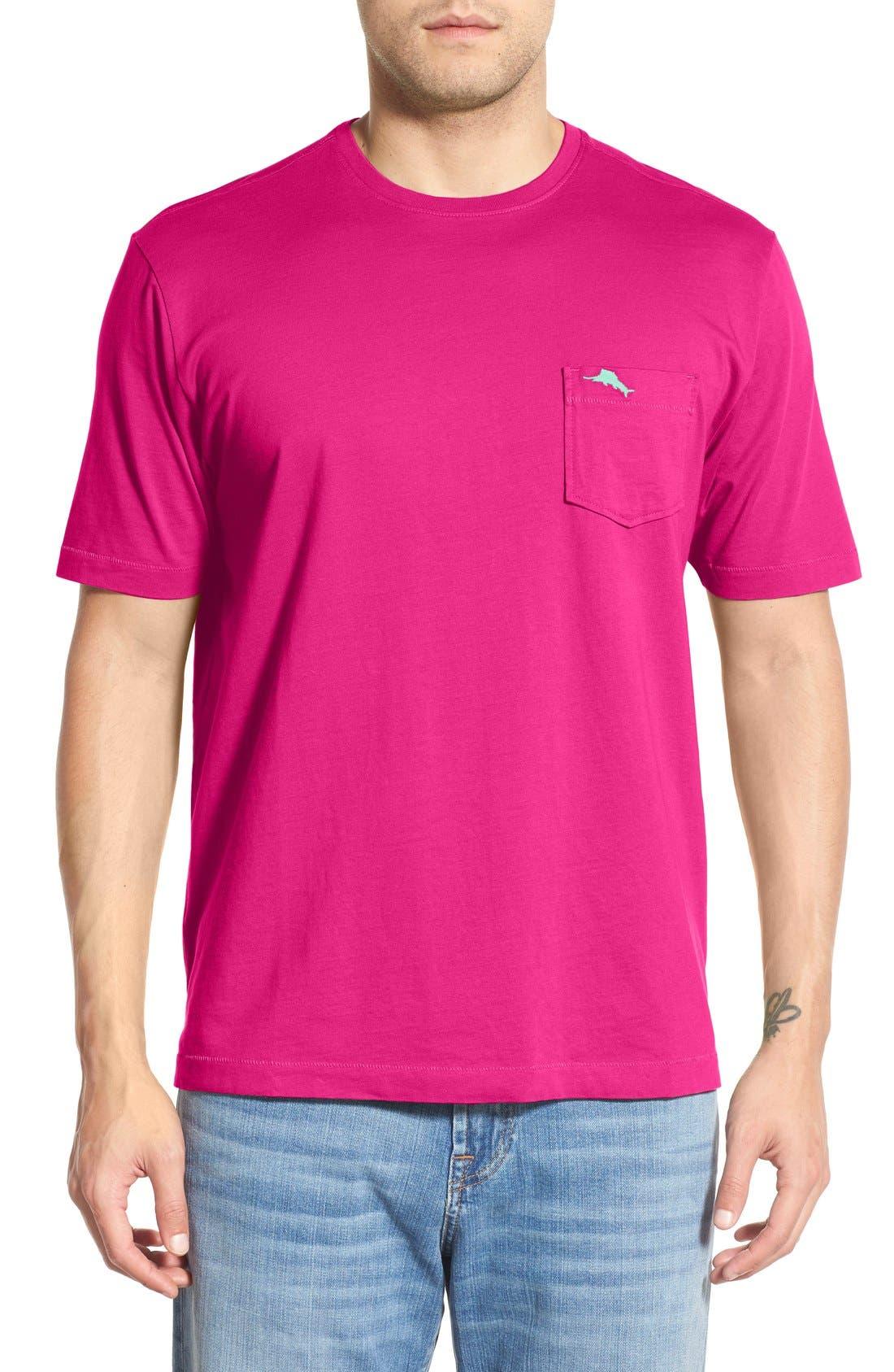 New Bali Sky Pima Cotton Pocket T-Shirt,                             Main thumbnail 43, color,
