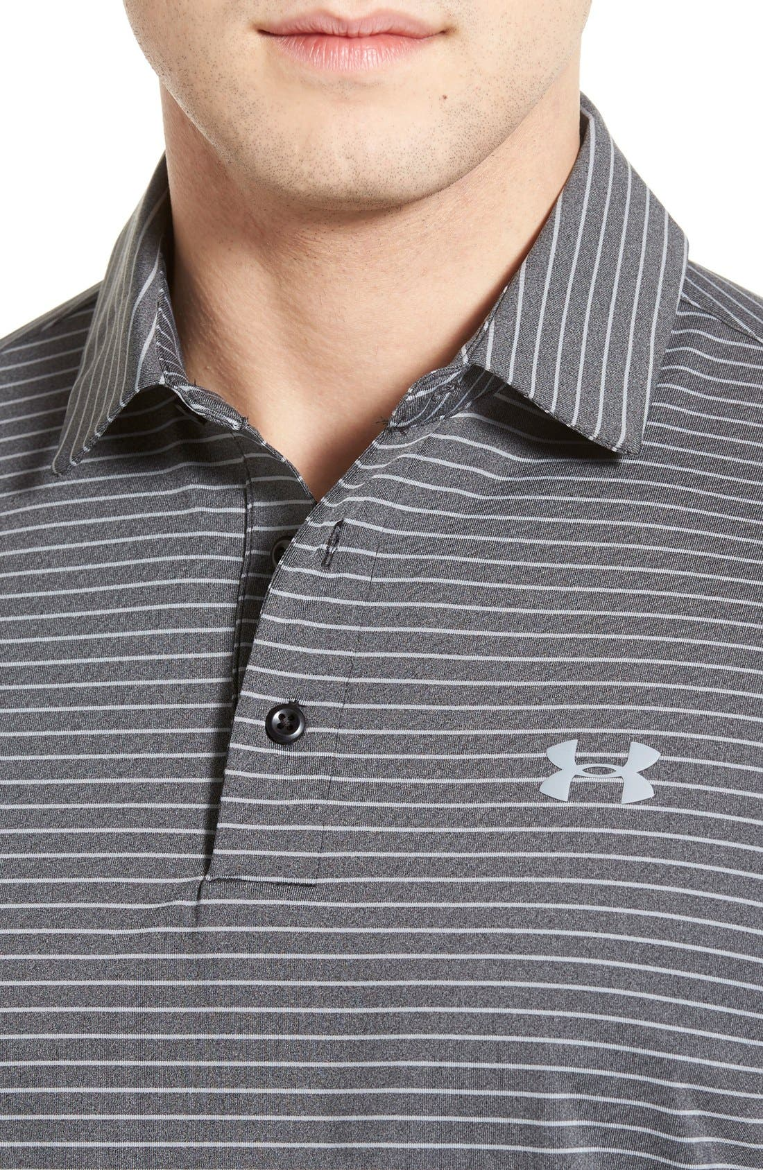 'Playoff' Loose Fit Short Sleeve Polo,                             Alternate thumbnail 127, color,